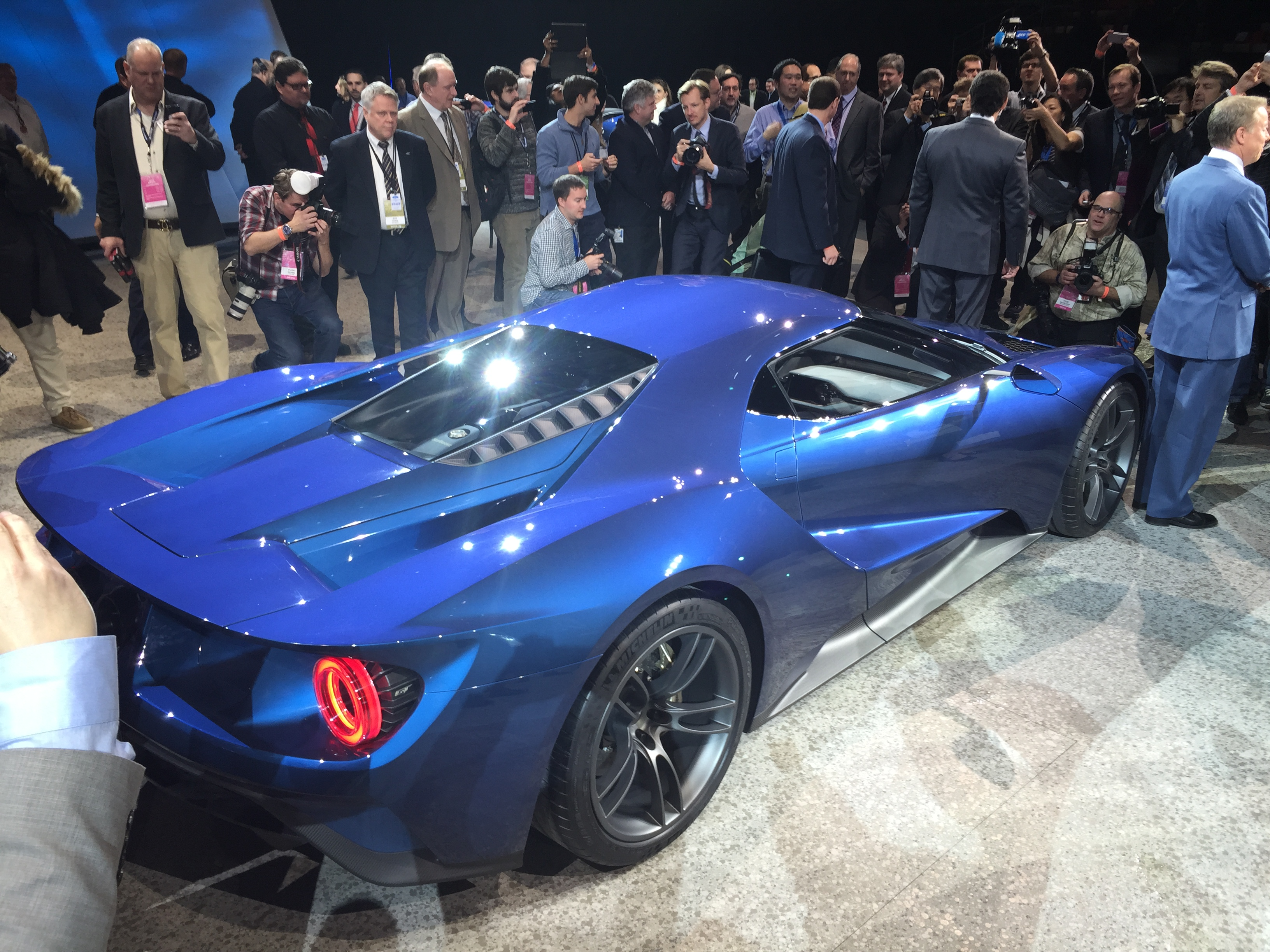 New Ford GT Rear Press Conference