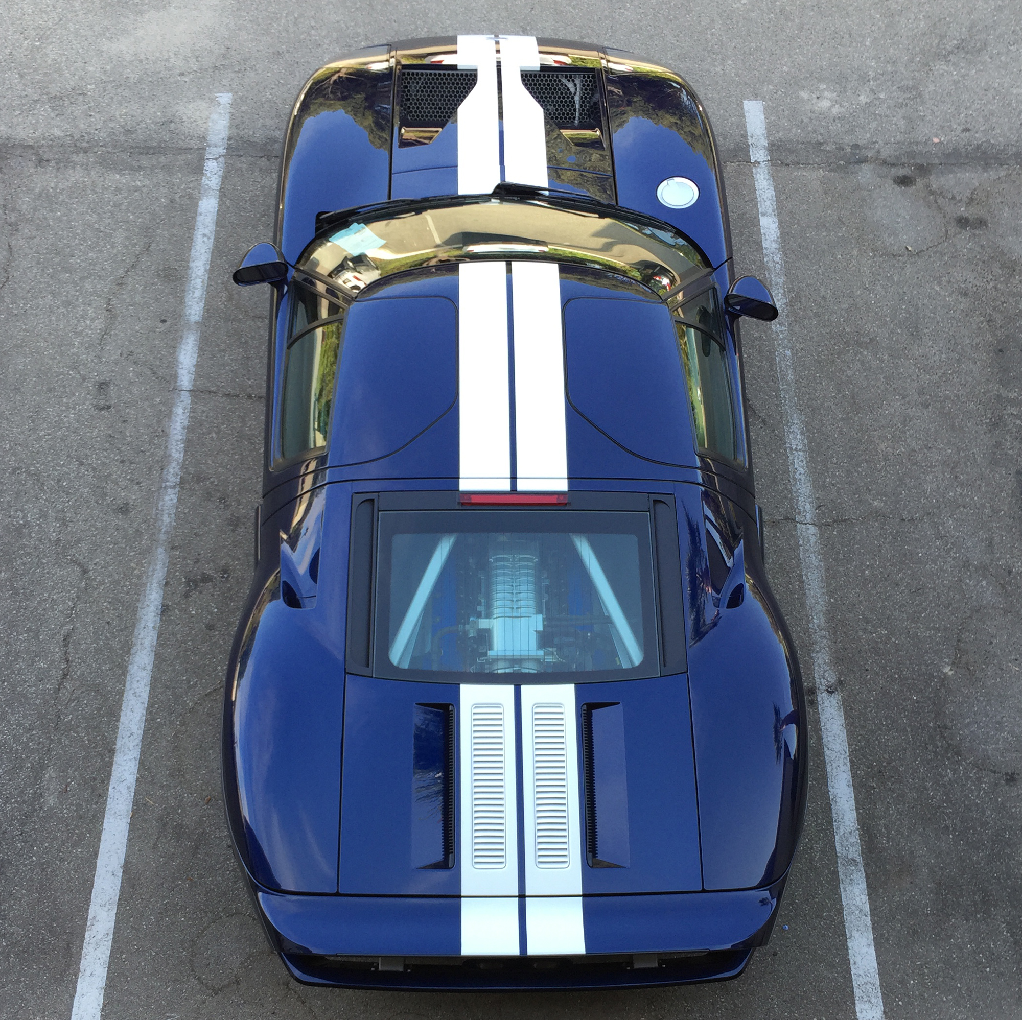 2005 Ford GT Overhead Monterey Trip