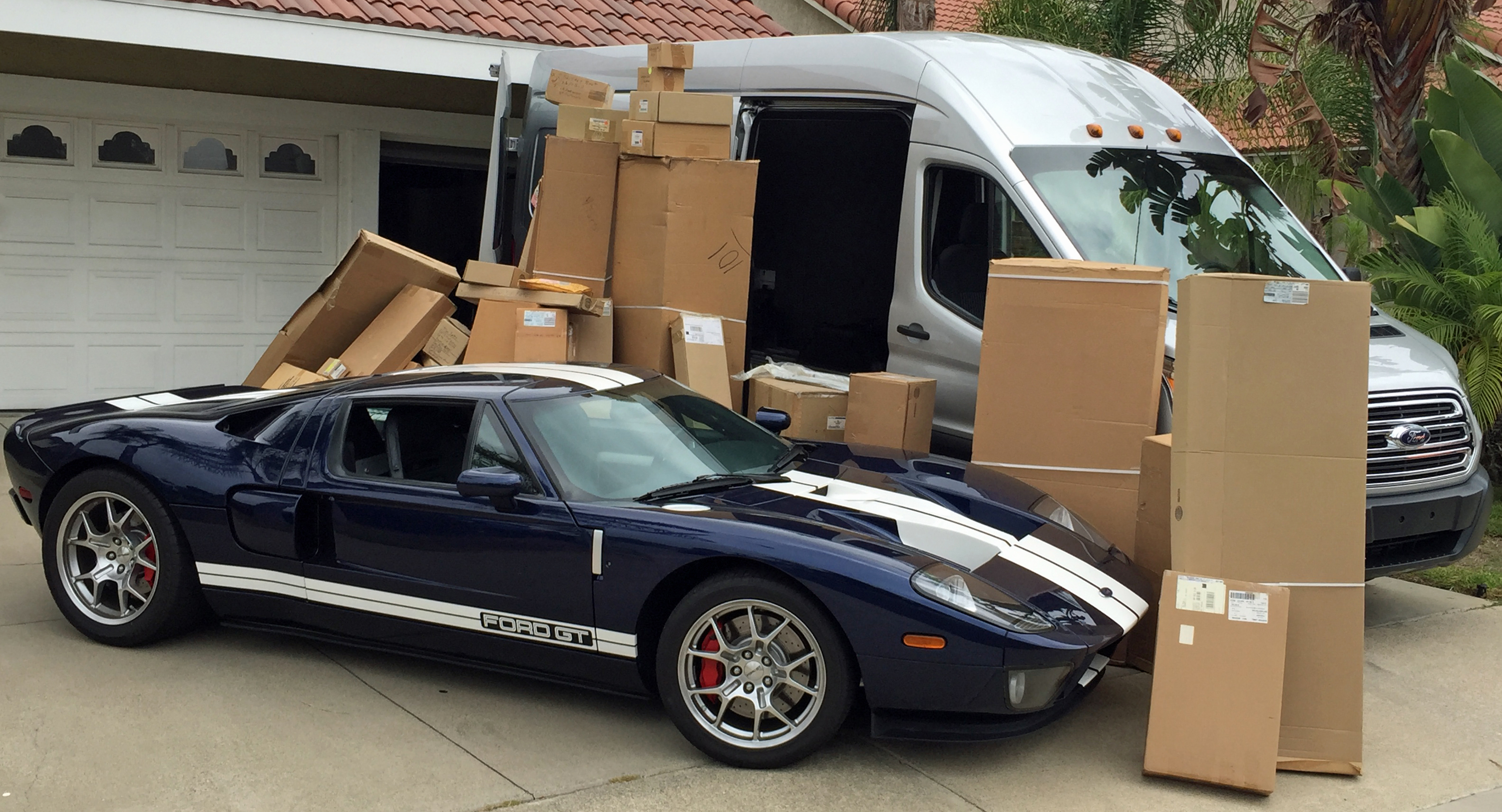 2005 Ford GT Transit Parts