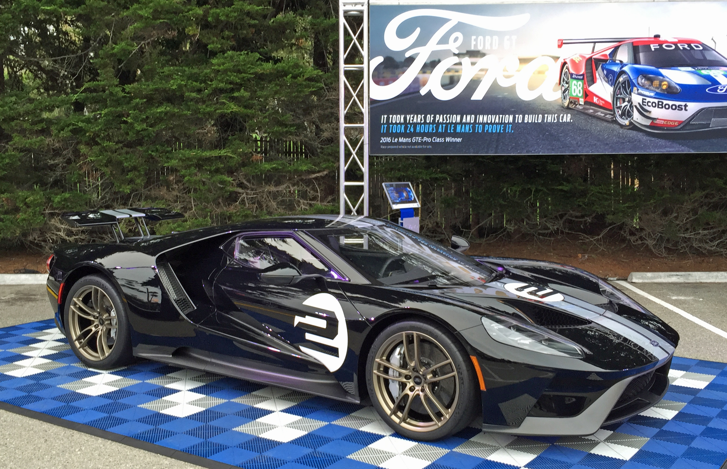 2017 Ford GT '66 Heritage Edition Pebble Beach