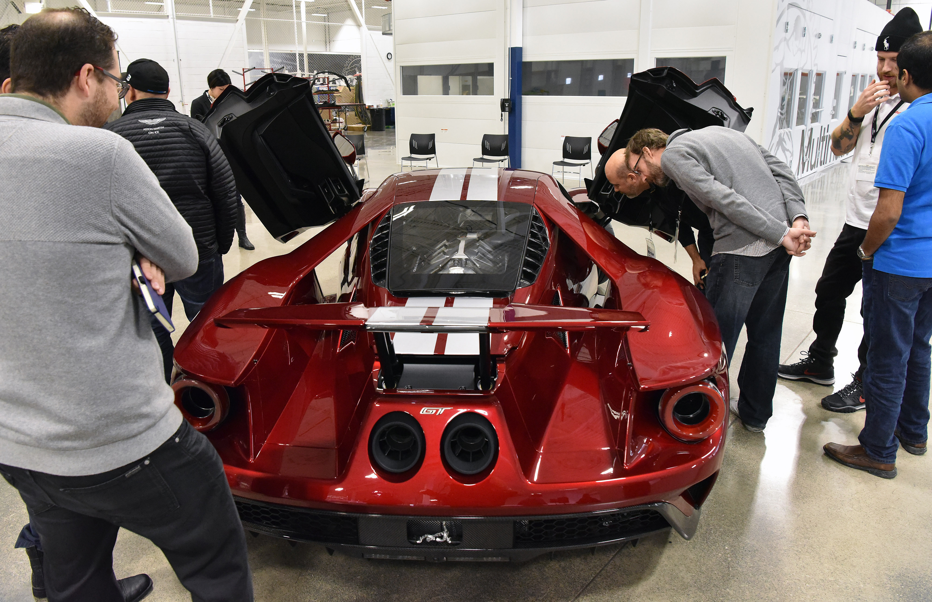 2017 Ford GT Production Liquid Red