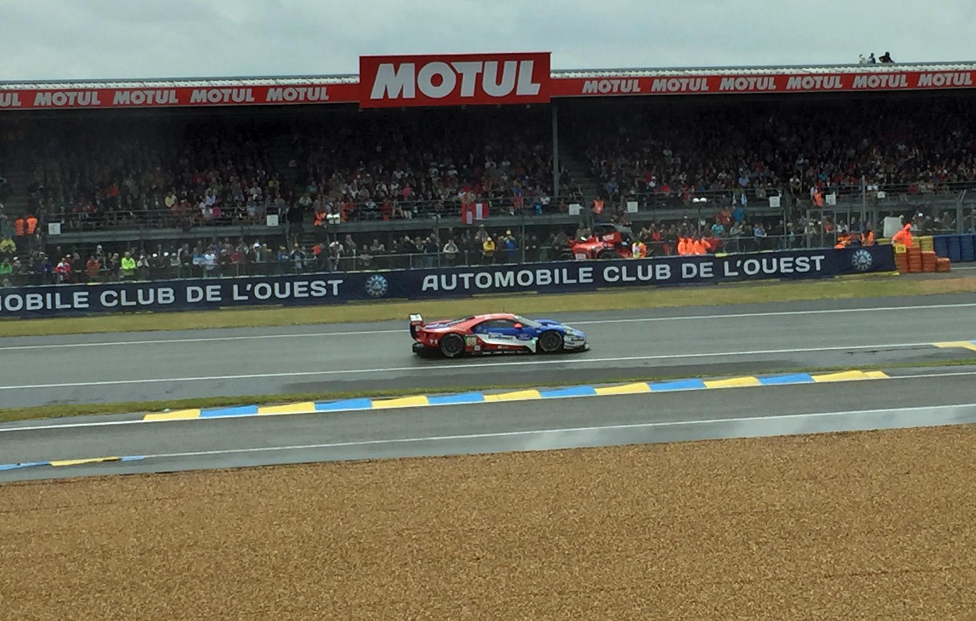 Ford GT 2016 Le Mans Front Strait
