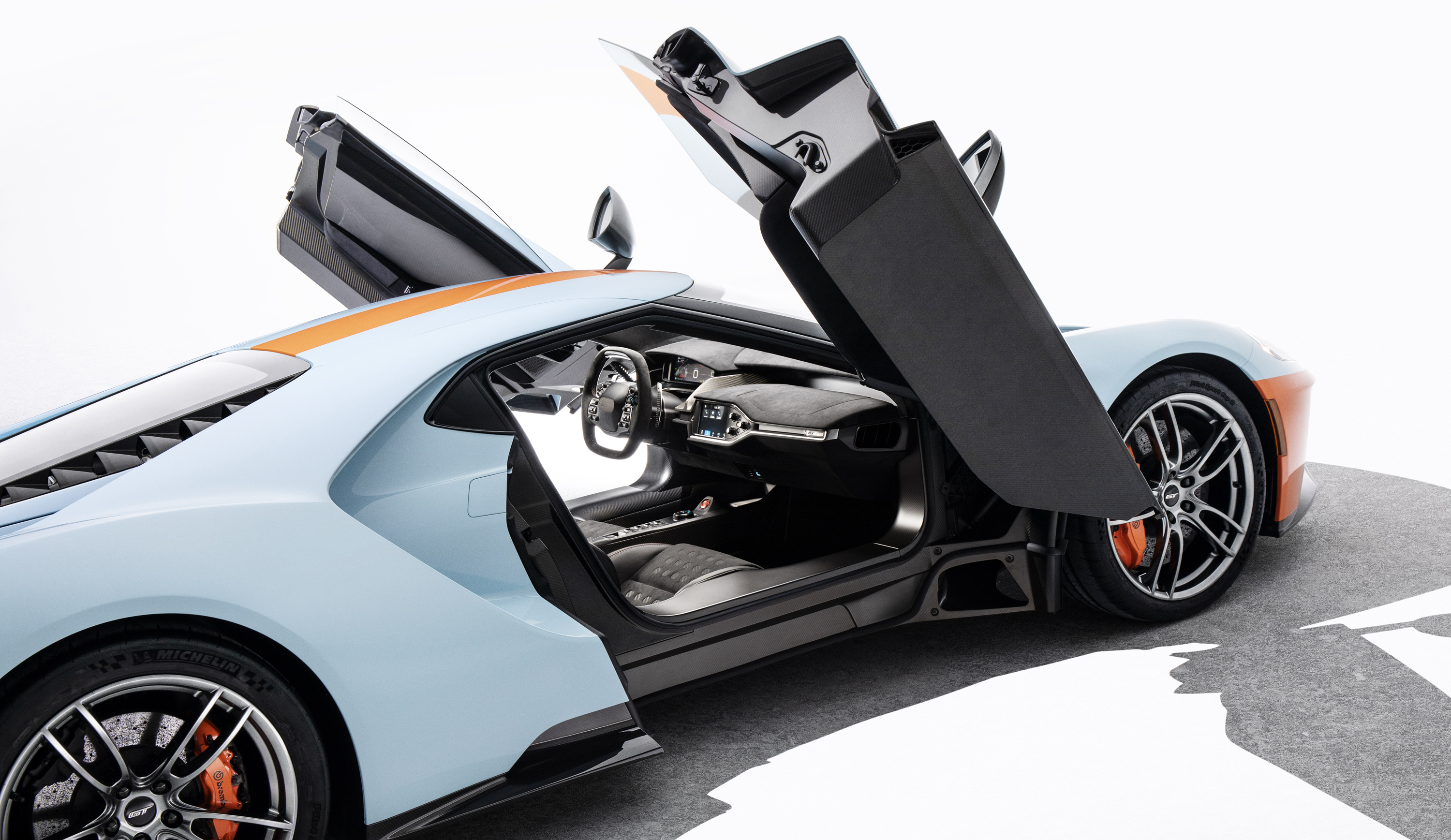 2019 Ford GT Heritage Edition Doors Open