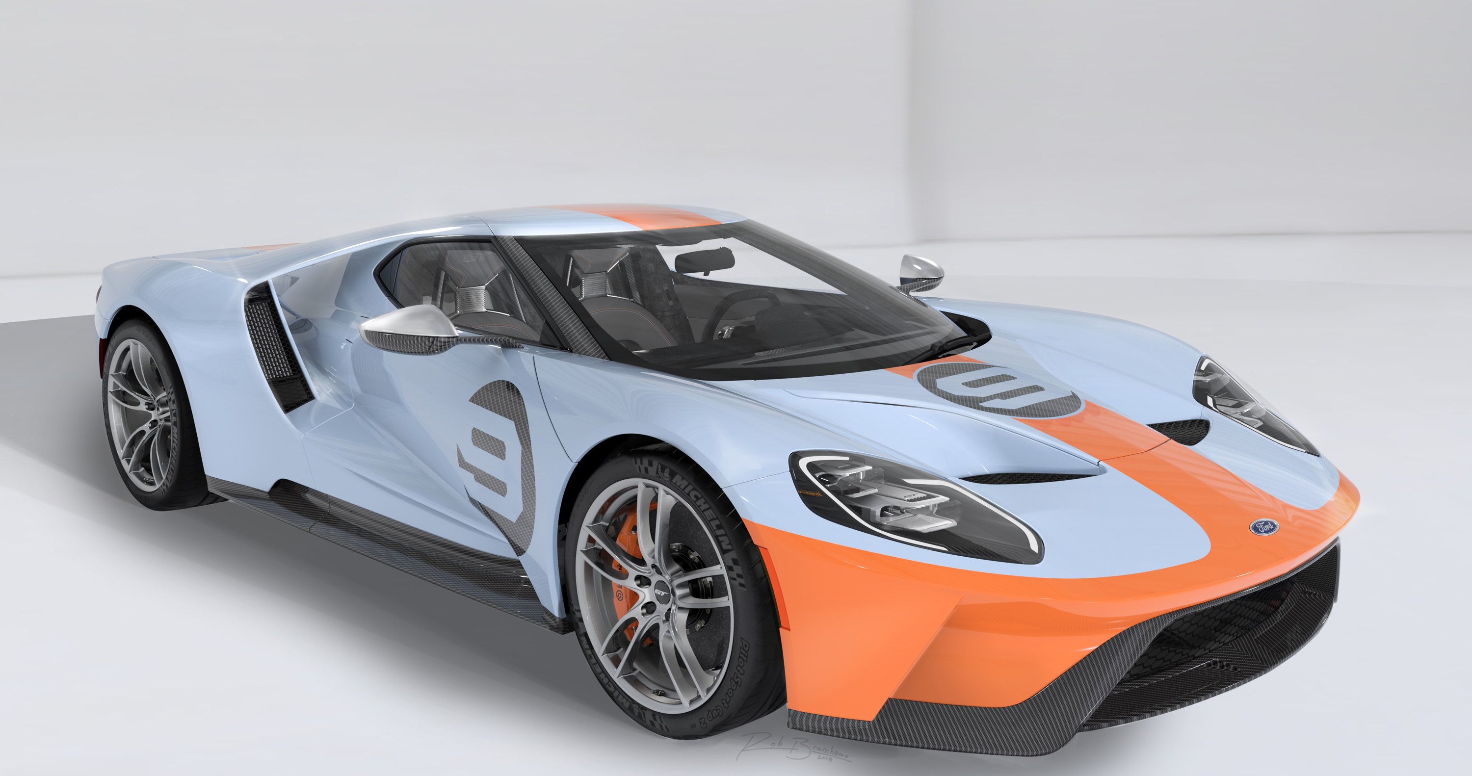 2019 Ford GT Heritage Edition Front