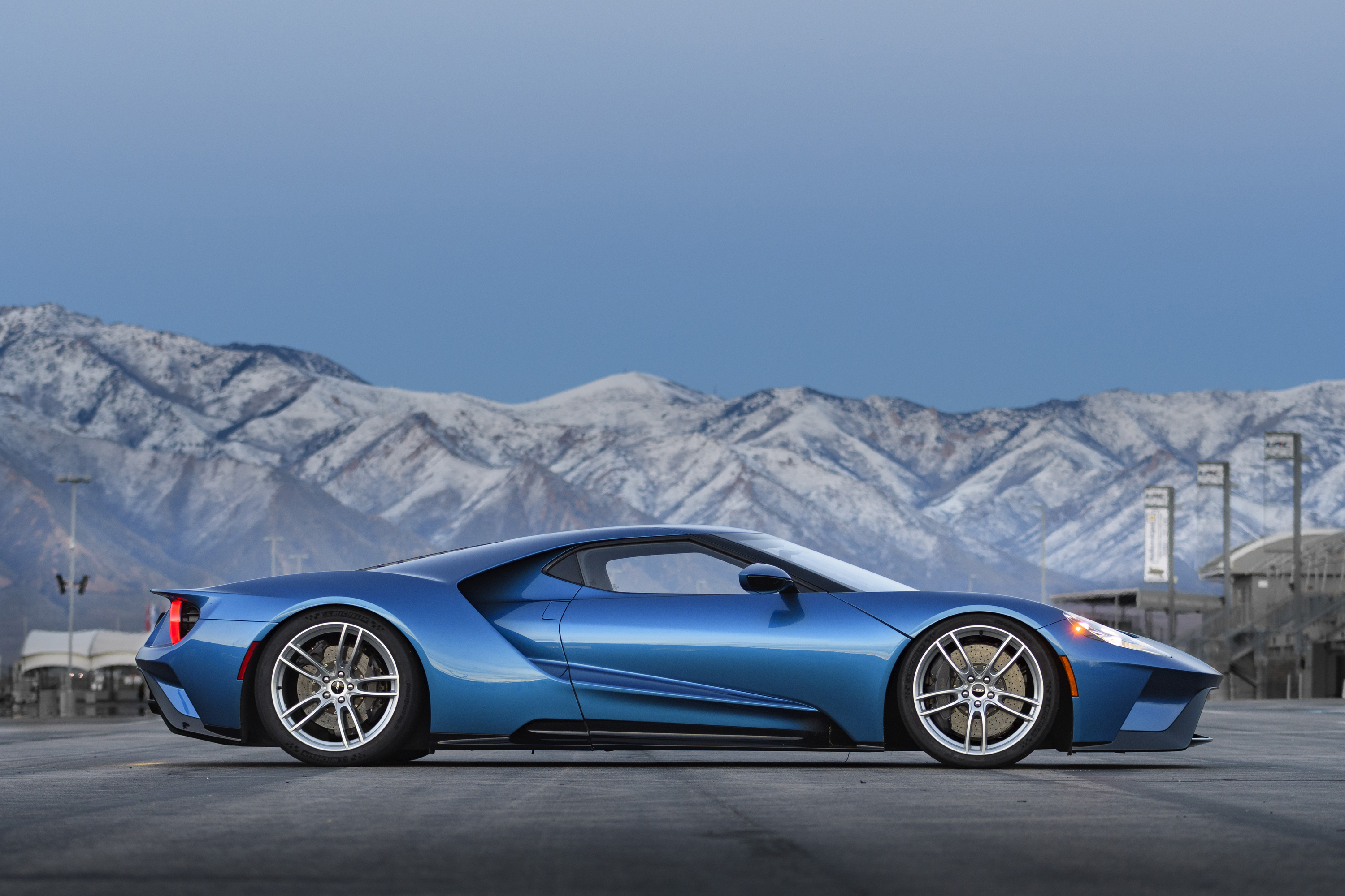 New Ford GT Liquid Blue