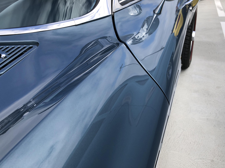 1967 Chevrolet Corvette Lynndale Blue Fender