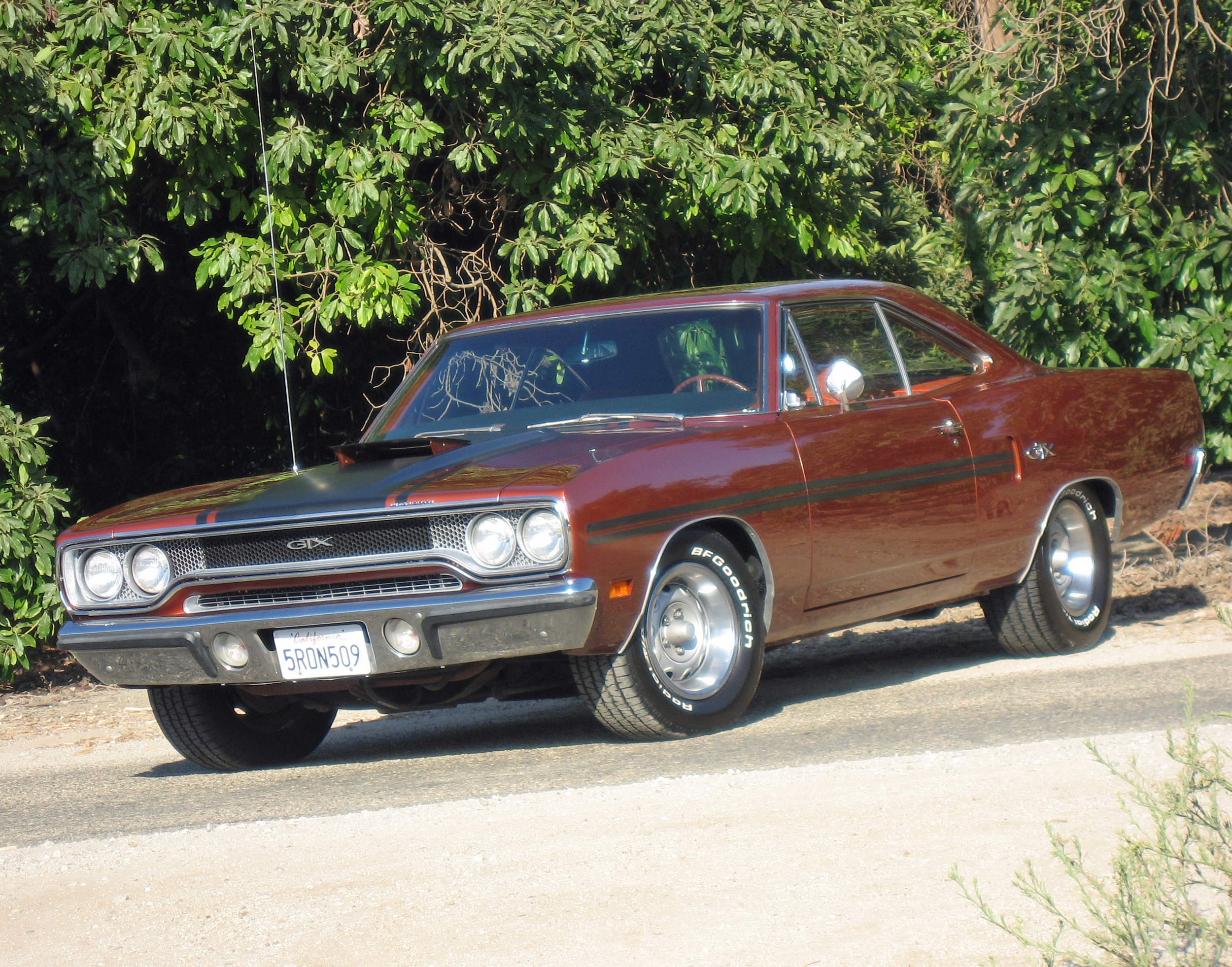 1970 Plymouth GTX Front Burnt Orange