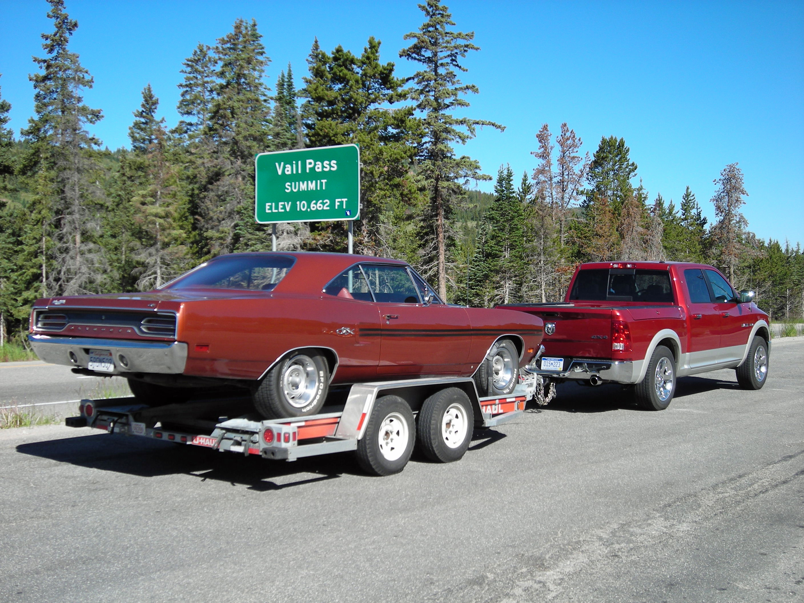 1970 Plymouth GTX Vail Pass