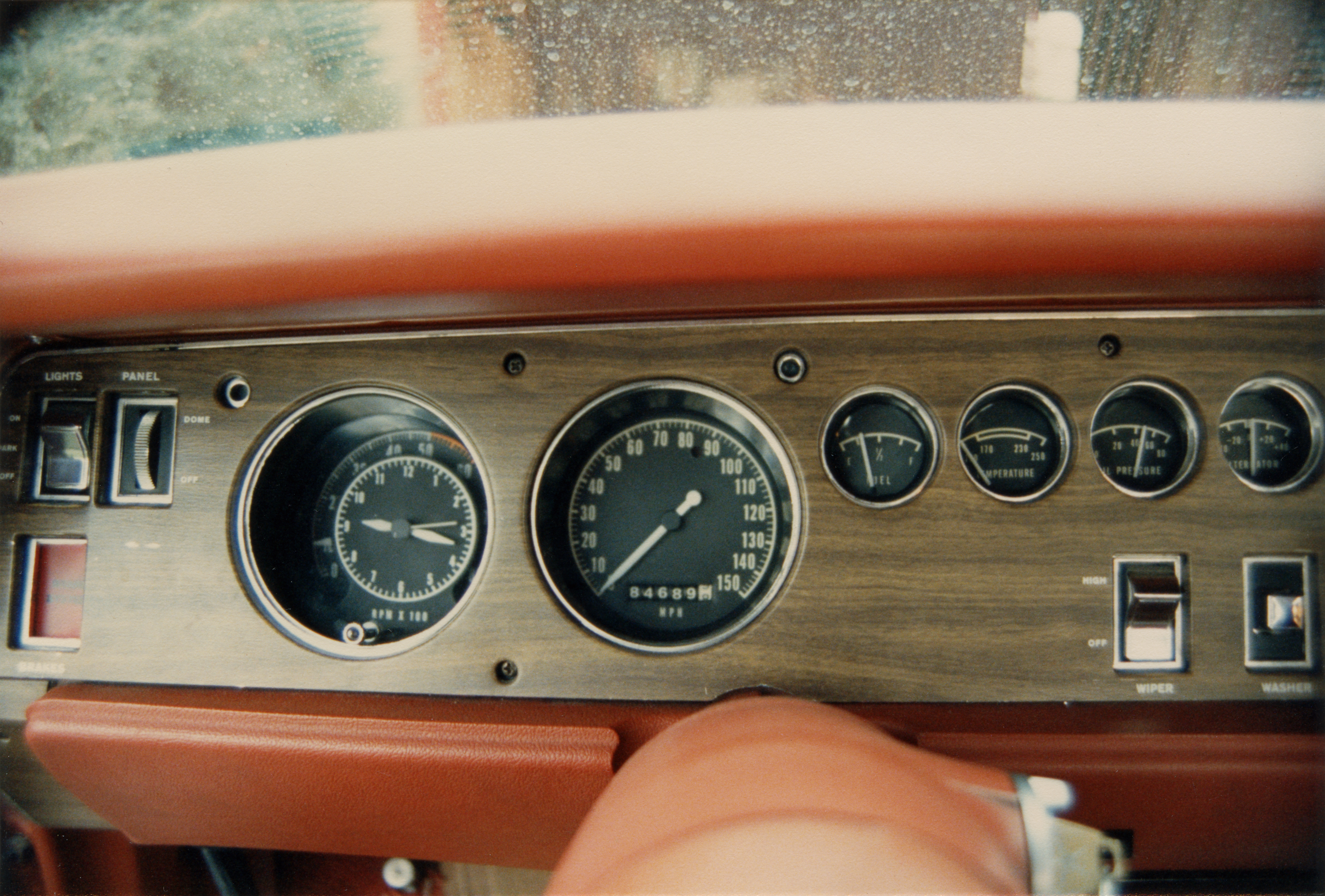 1970 Plymouth GTX Gauge Cluster