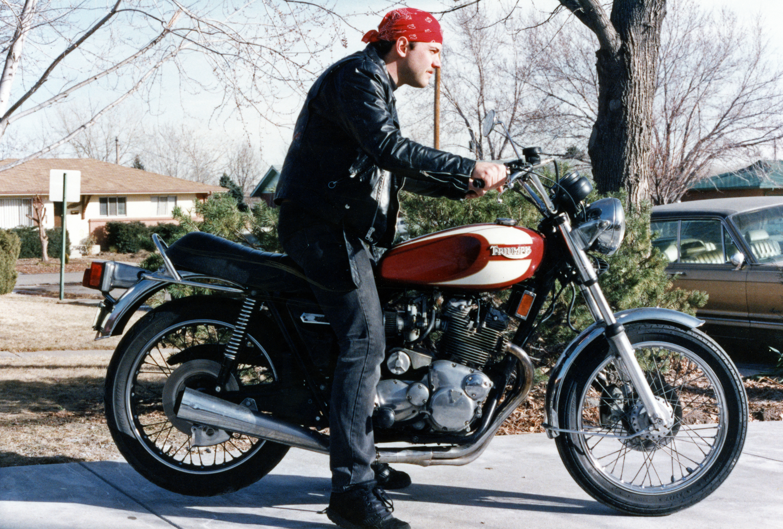 1975 Triumph Trident T160 Karl Bandana