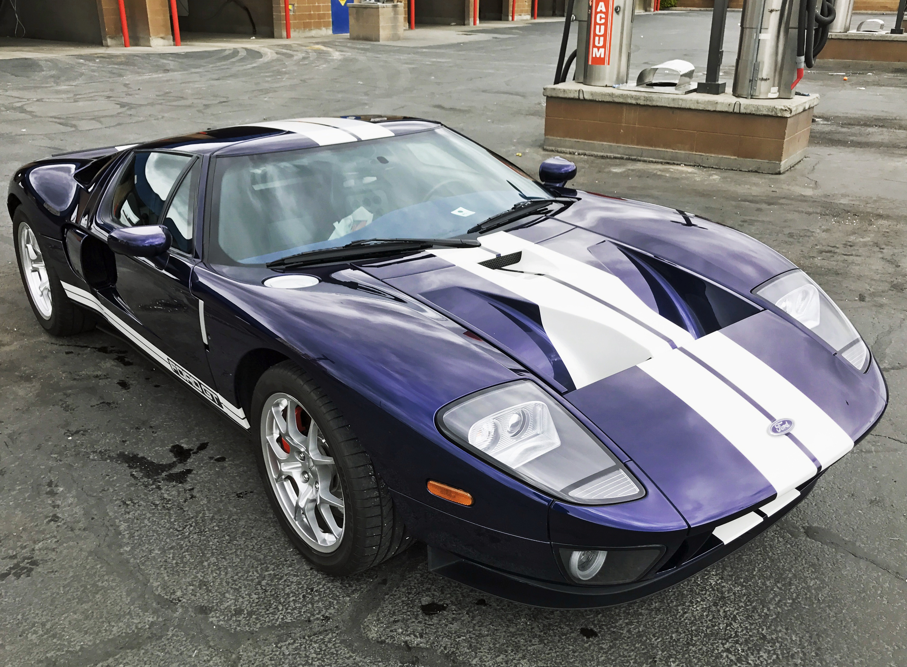 2005 Ford GT Washed After Hail