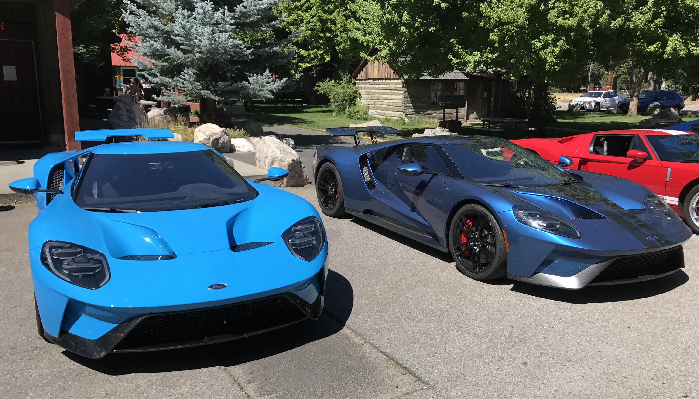 2017 Ford GT Riviera Blue Liquid Blue