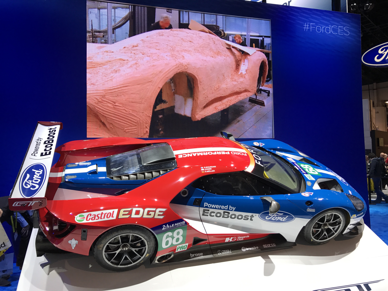 Ford GT Race Car CES