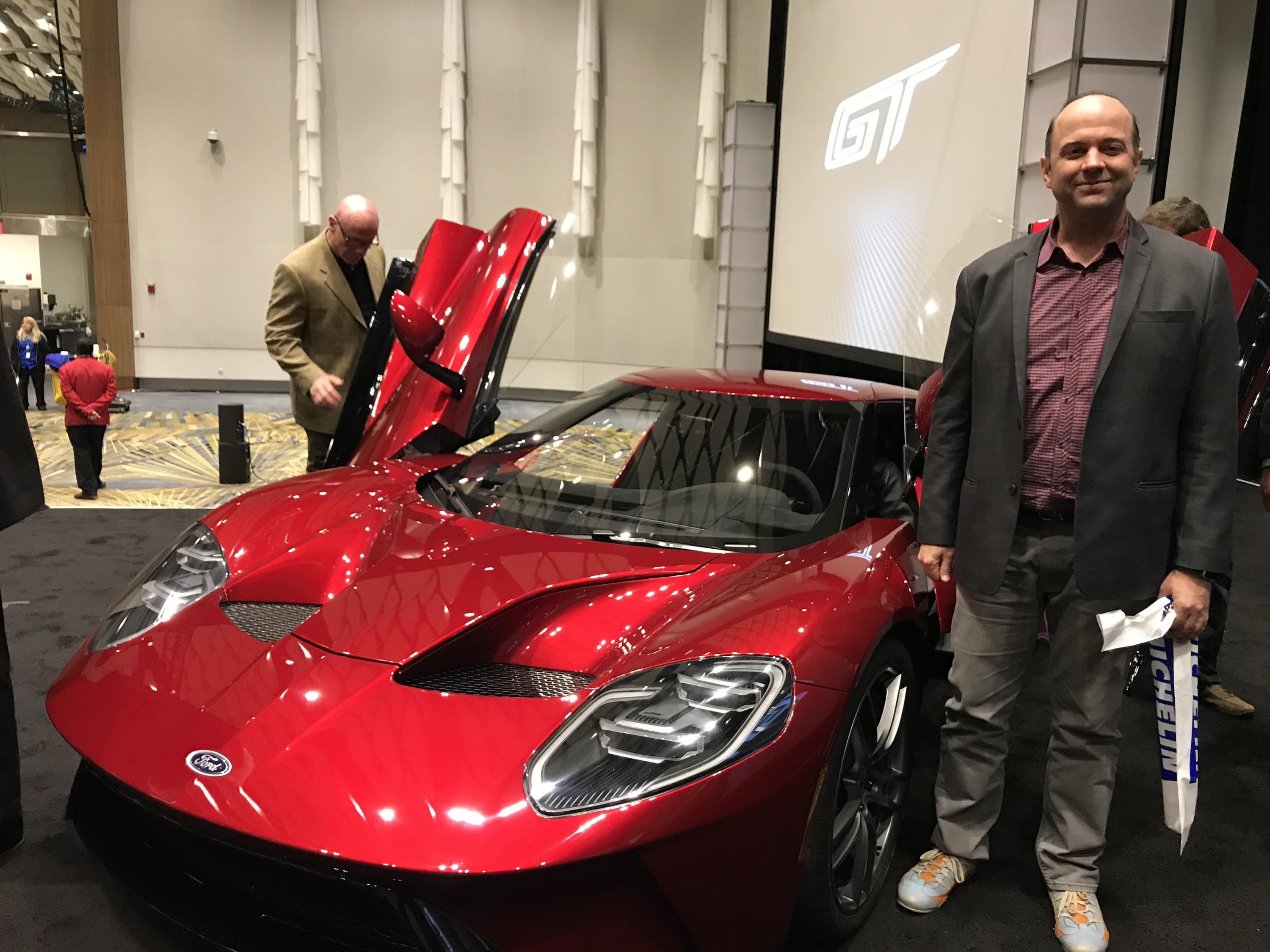 New Ford GT SAE Liquid Red