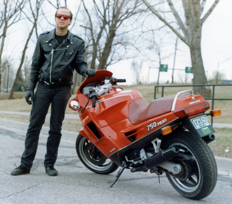 1987 Ducati Paso Karl Standing