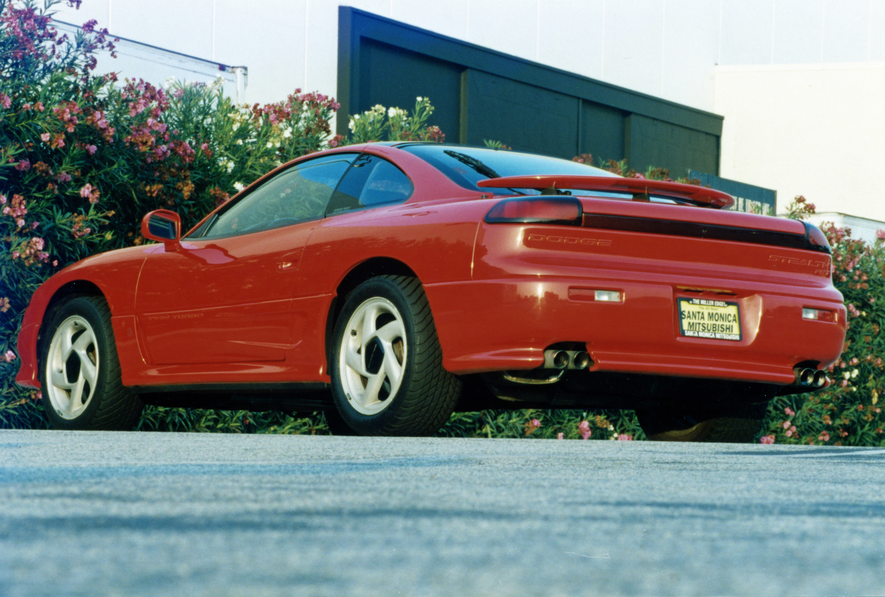 1991 Dodge Stealth RT Twin Turob Rear