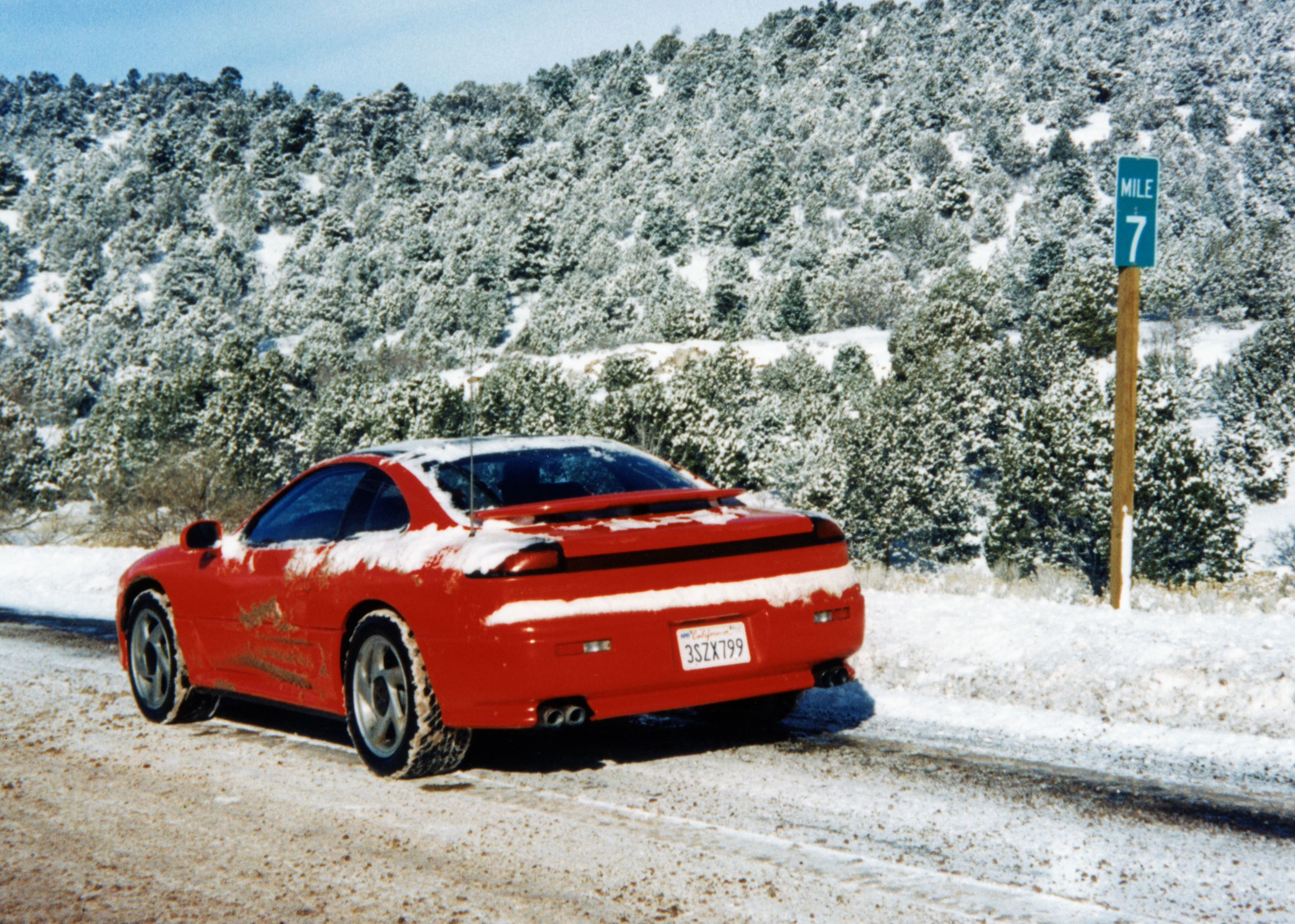 1991 Dodge Stealth RT Twin Turbo Snow
