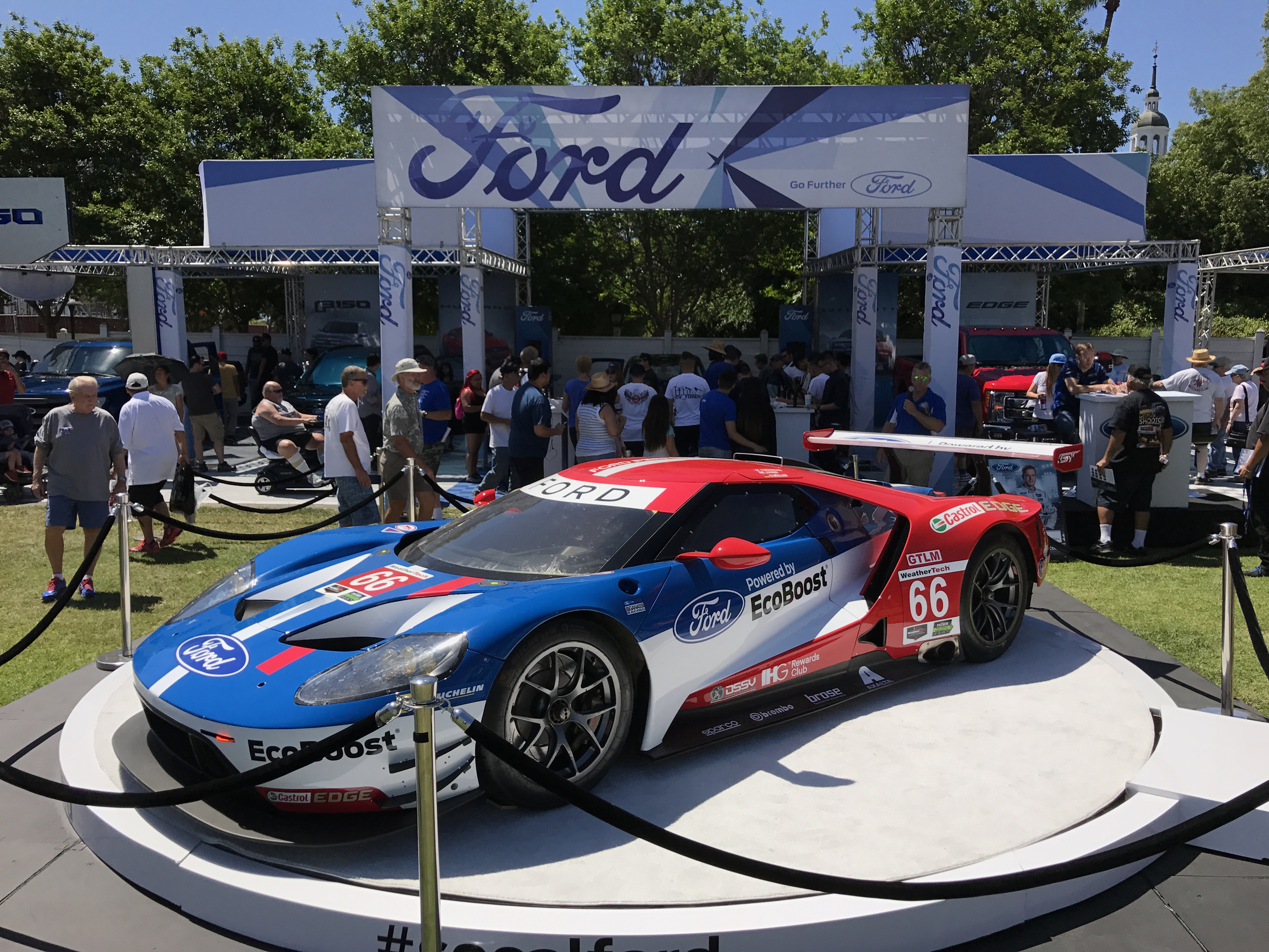 2017 Fabulous Fords Forever Ford GT IMSA Race Car