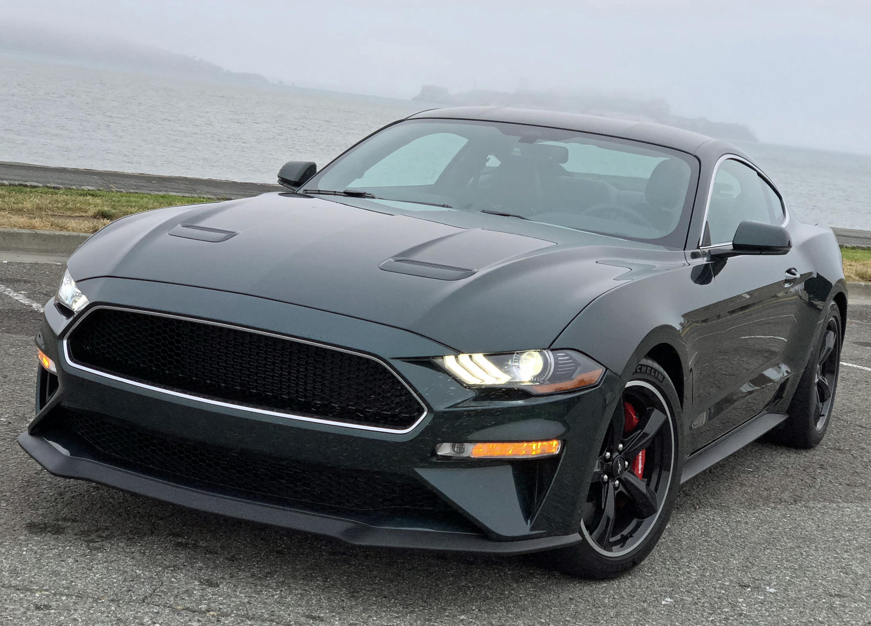 2019 Ford Mustang Bullitt Grille