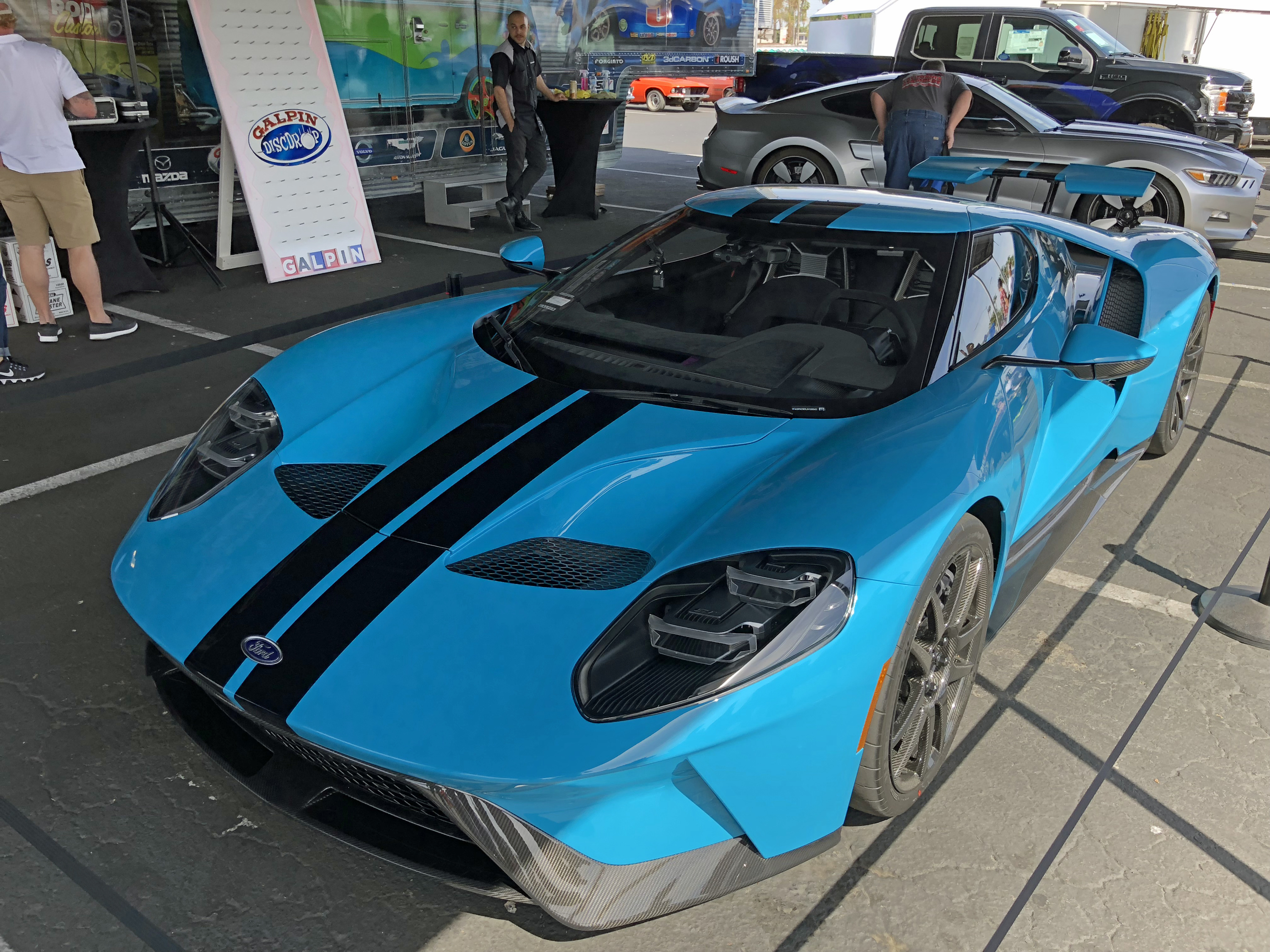 Fabulous Fords Forever 2018 New Ford GT Miami Blue