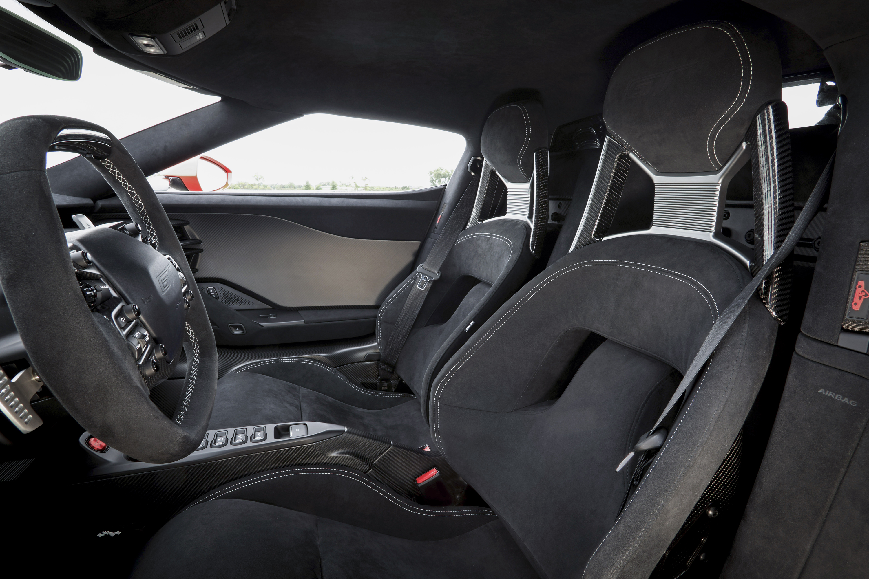 Ford GT Carbon Series Leadfoot Interior