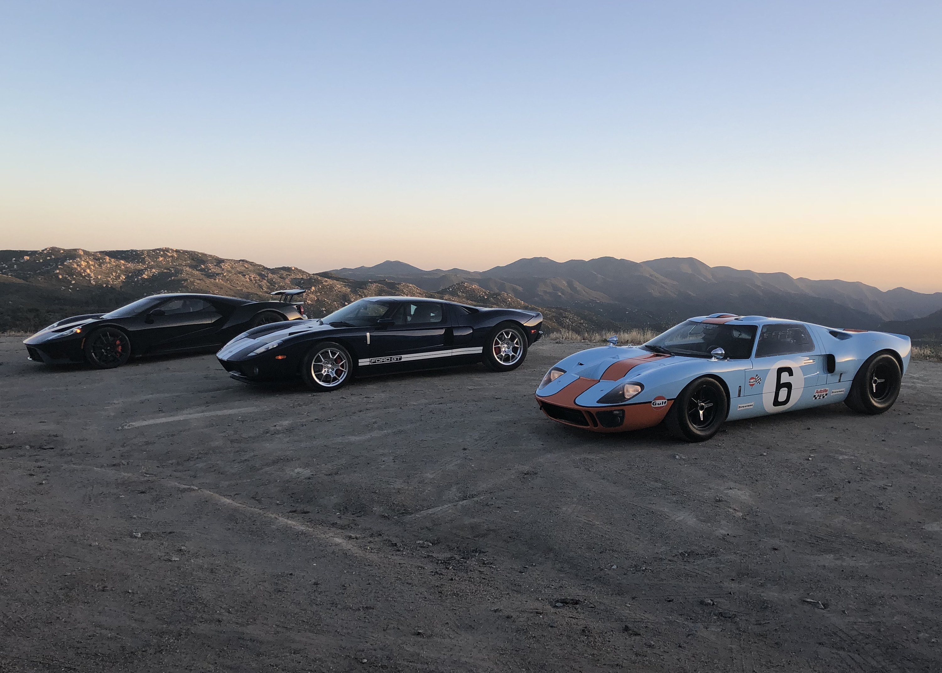Ford GT Generations Comparison Shoot