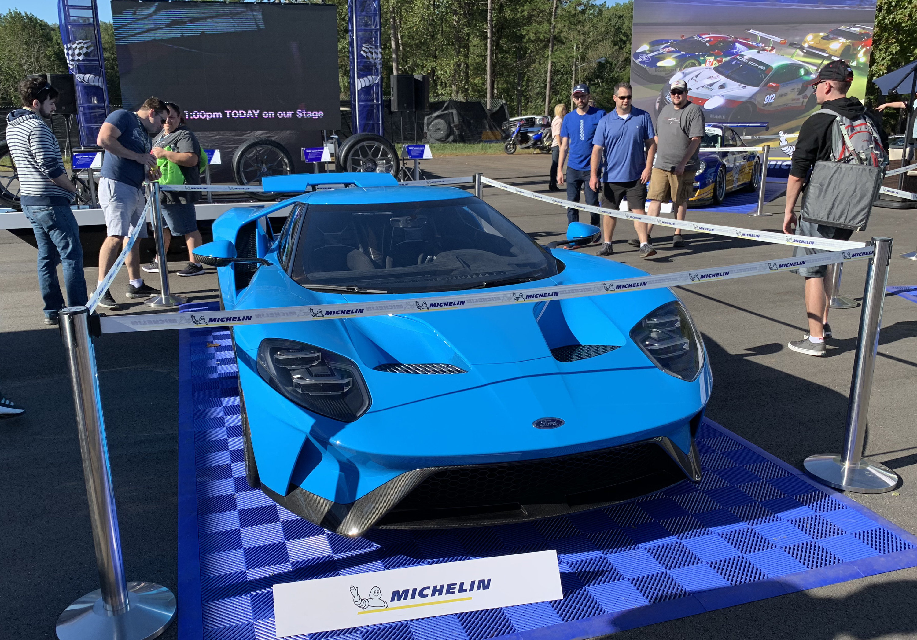 Ford GT Petit Le Mans Michelin Booth