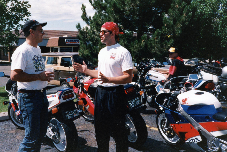 Karl Brauer Talking Motorcycles Bandana