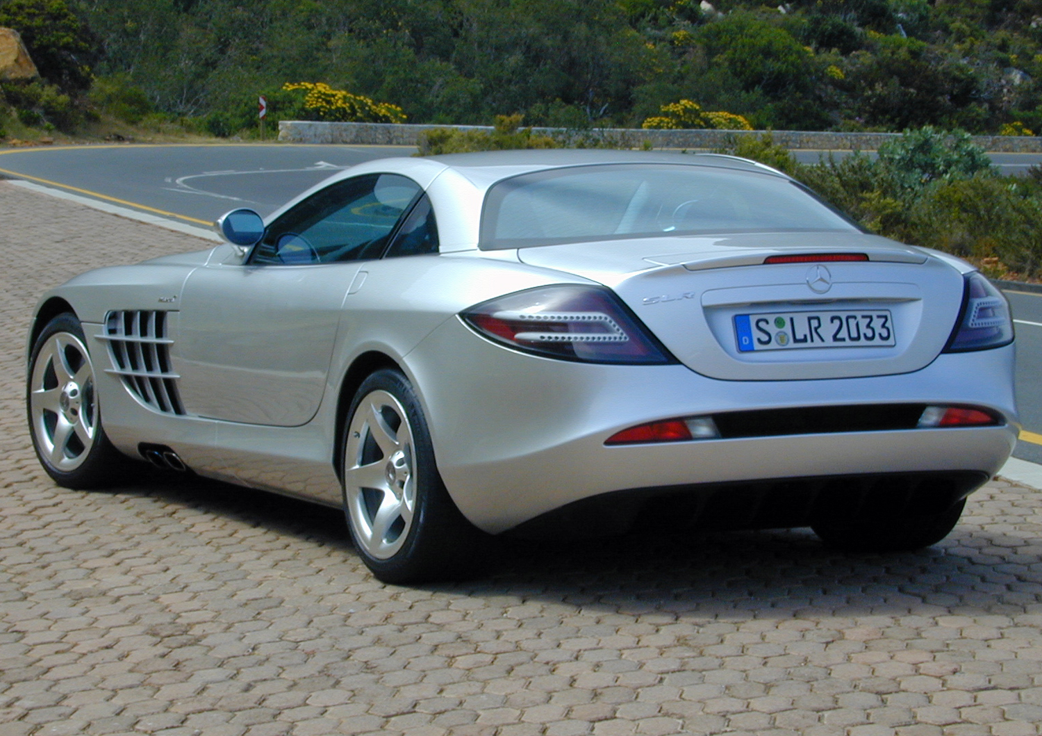 Mercedes-Benz McLaren SLR Rear