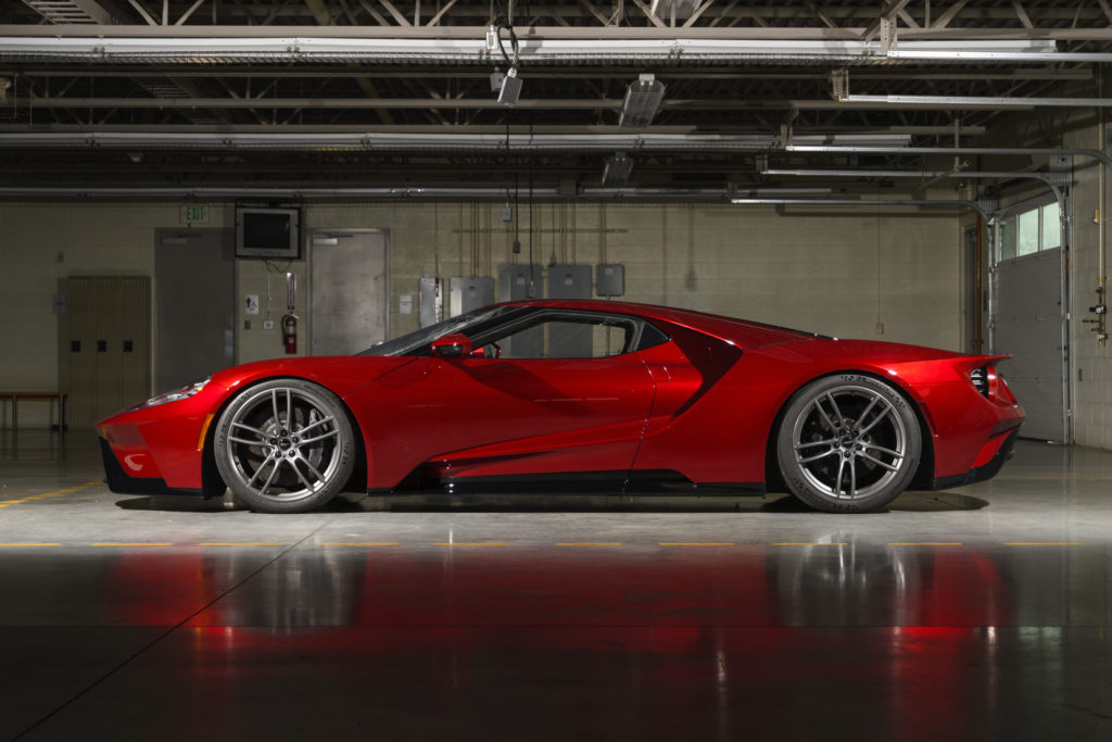 New Ford GT Liquid Red VMAX Mode