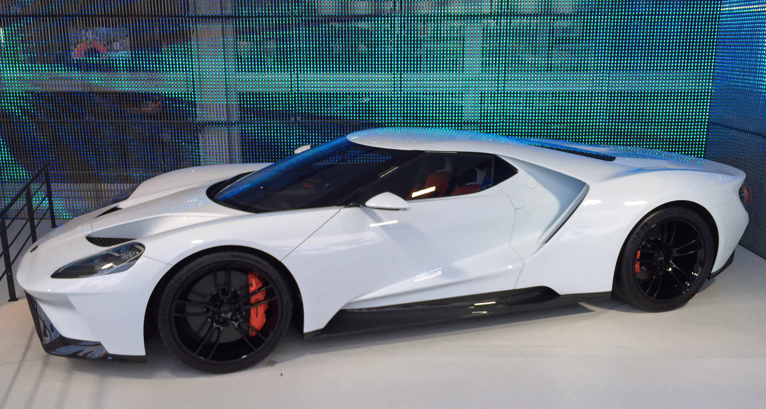 "New Ford GT ""body in white"""