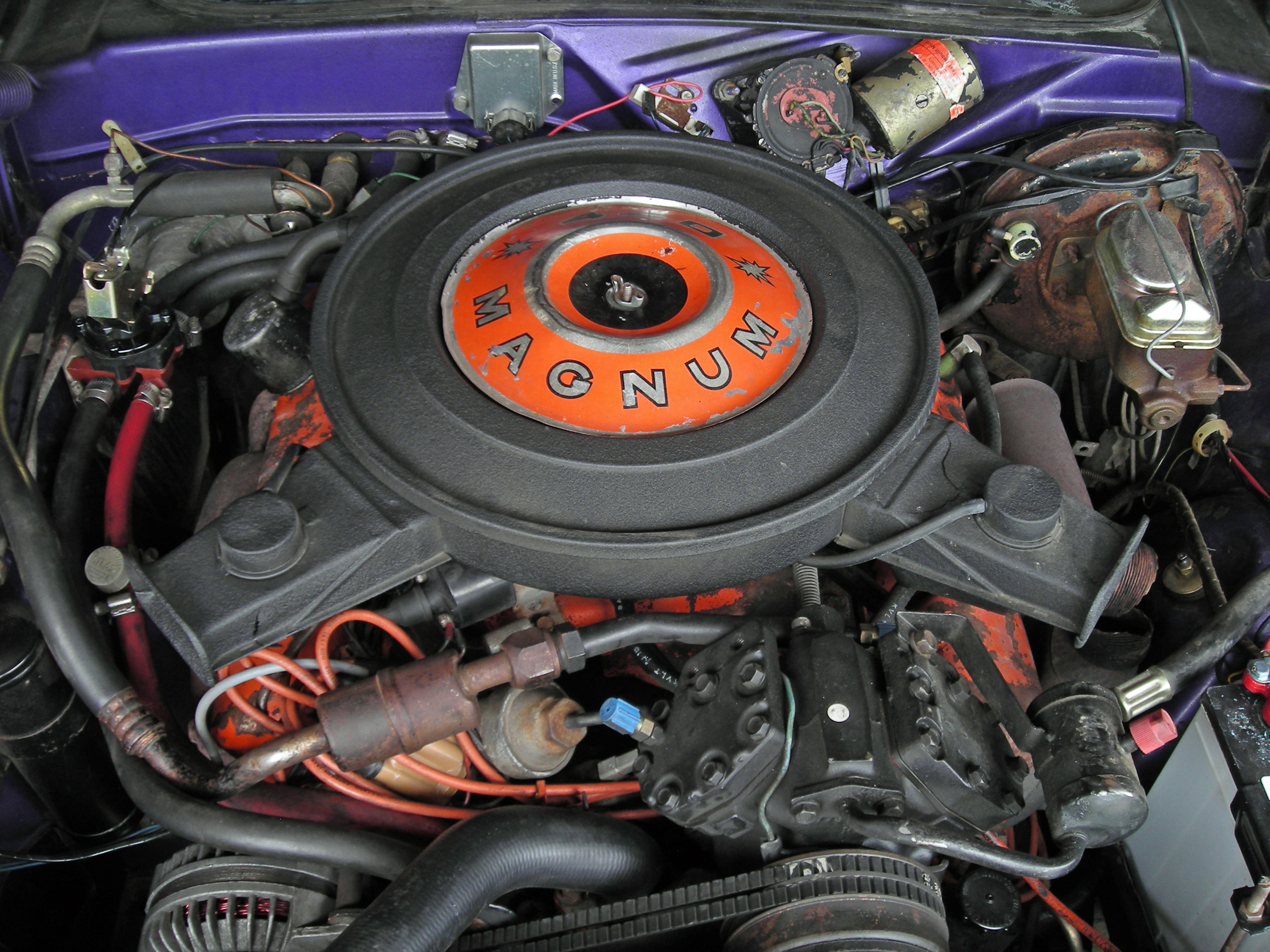 1970 Dodge Challenger RT Engine
