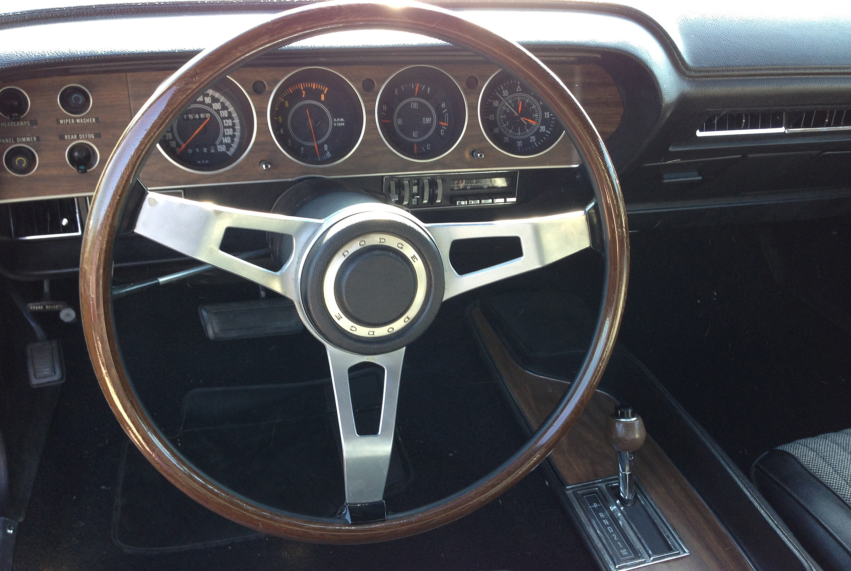 1970 Dodge Challenger RT Steering Wheel