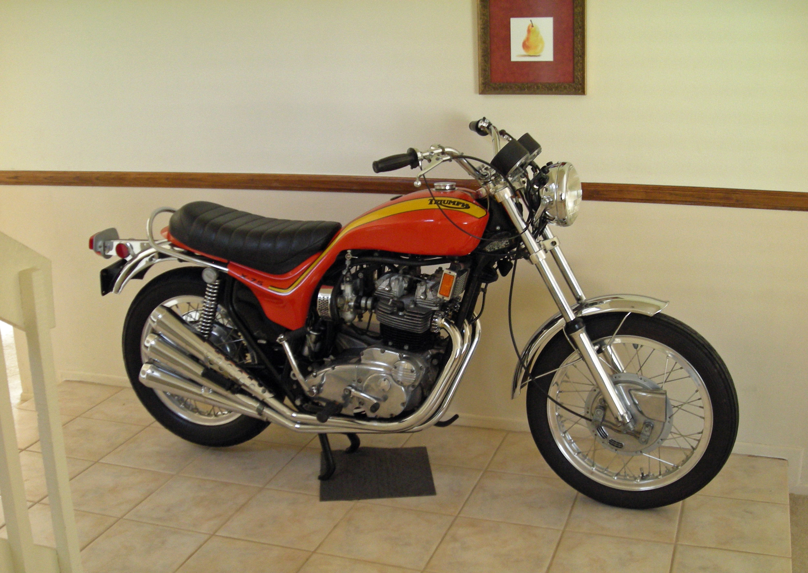 1973 Triumph Hurricane Entry Way