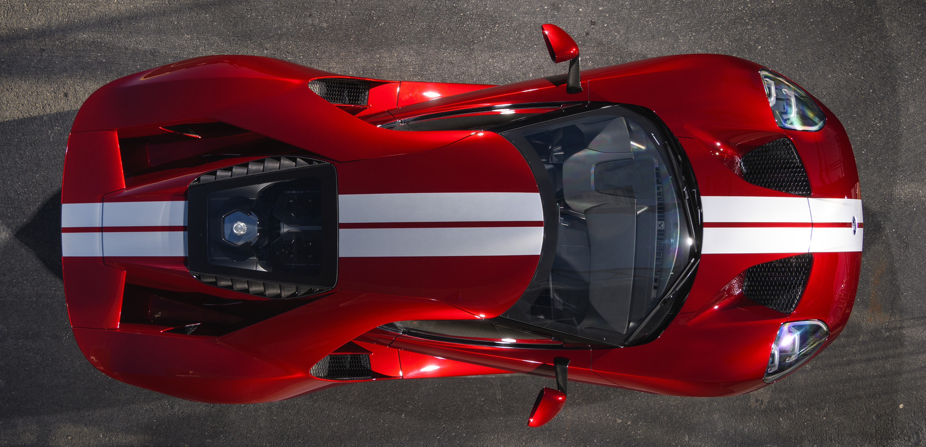 2017 Ford GT Roof Stripes