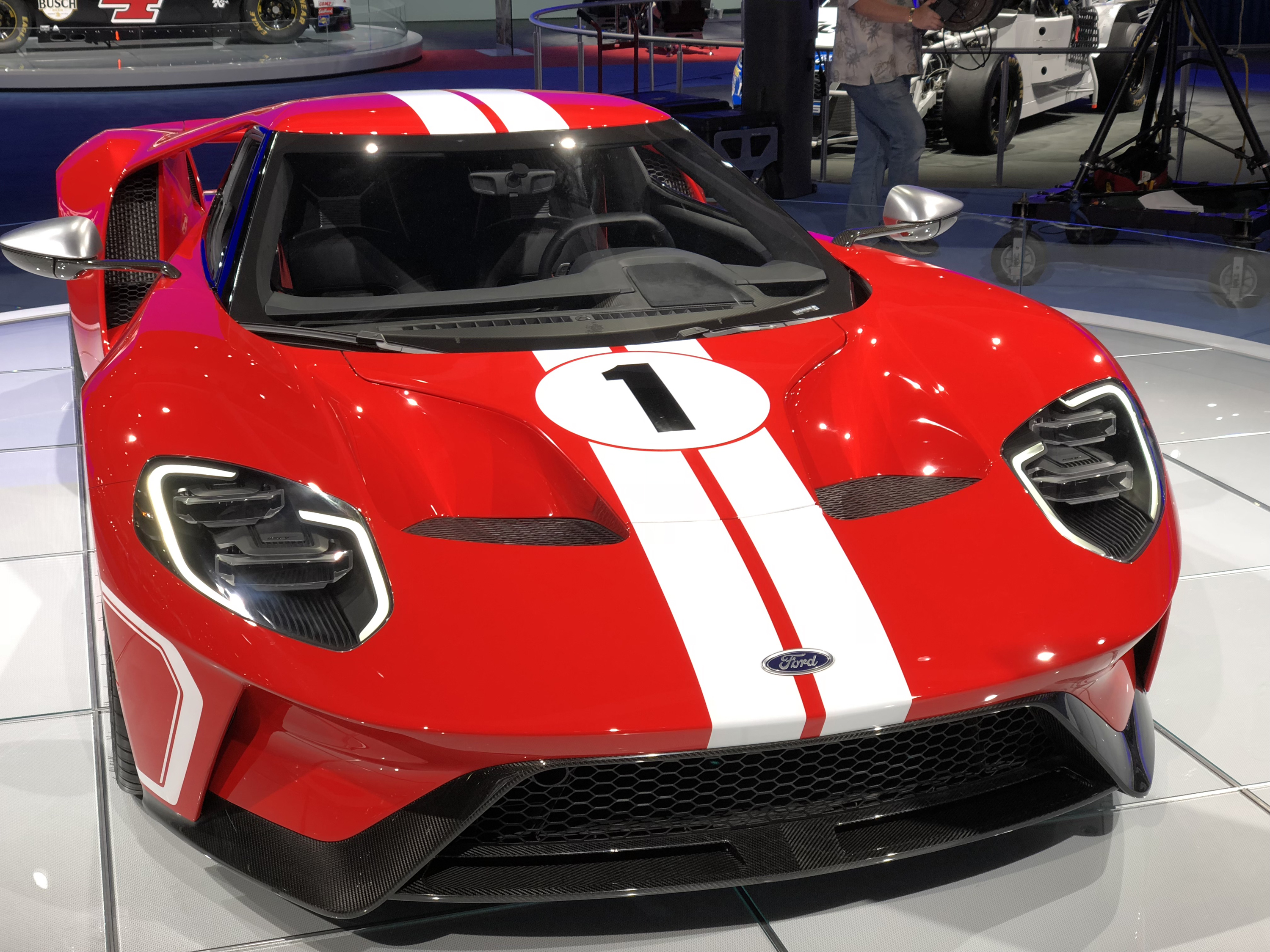 2018 Ford GT Heritage Stripes