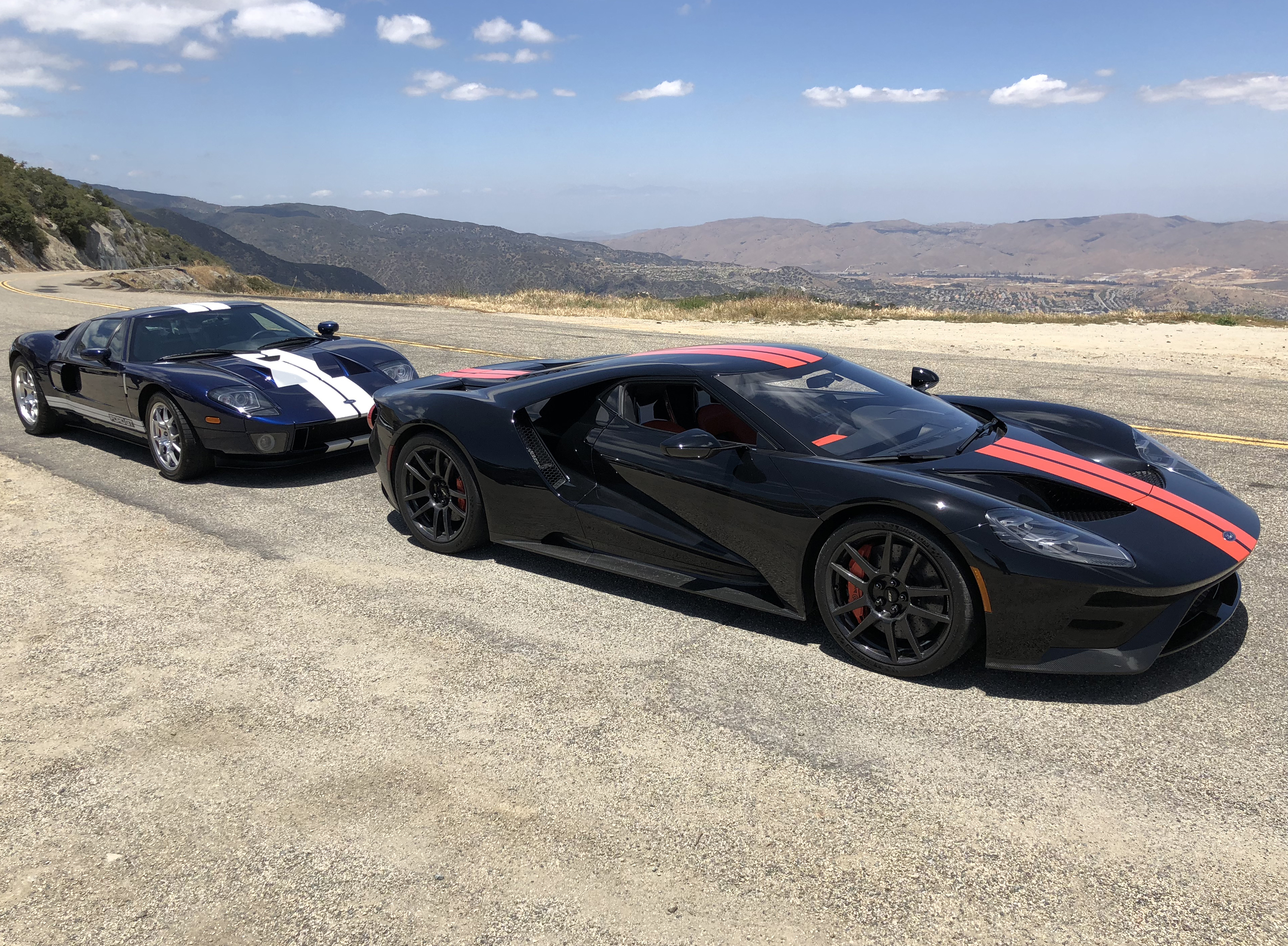 New Ford GT 2005 Ford GT Comparison Test