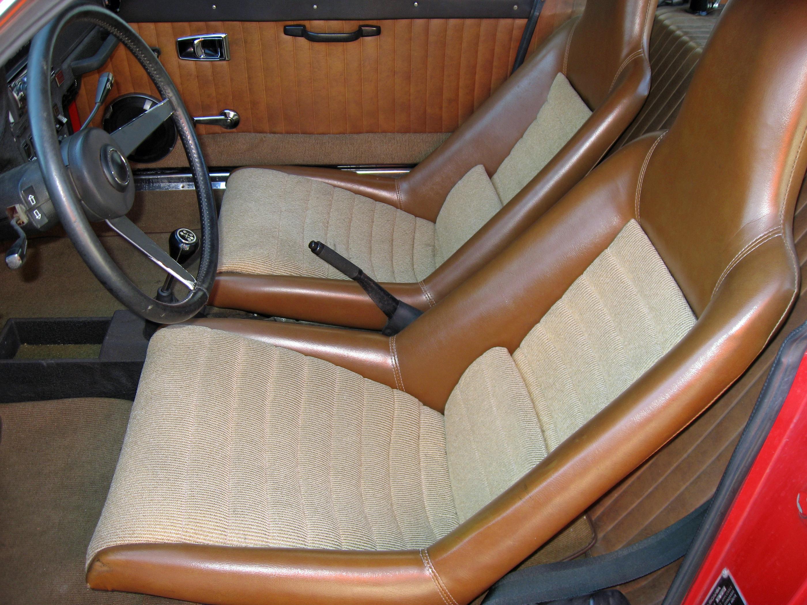 Saab Sonett Seats