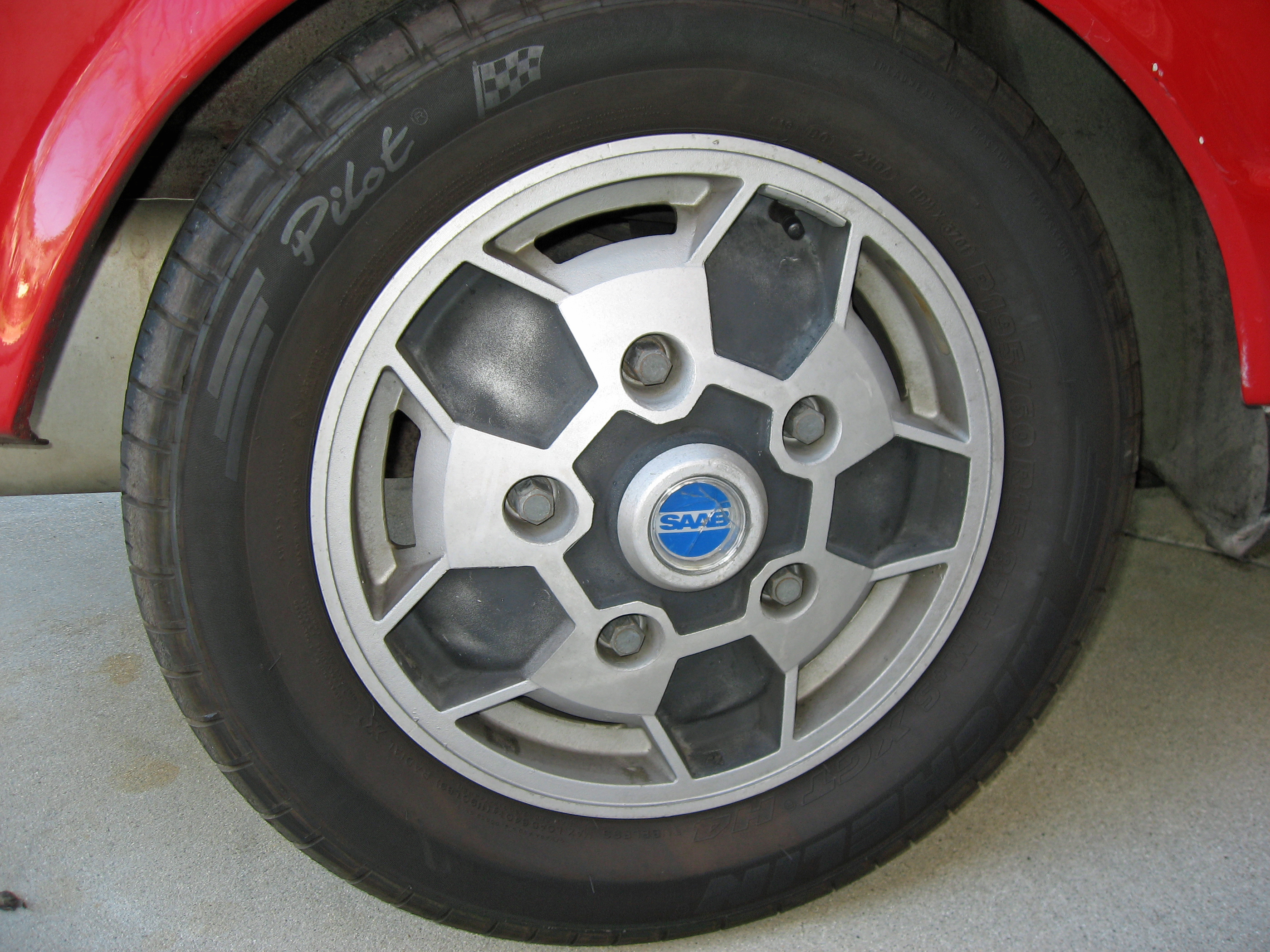 Saab Sonett Wheel
