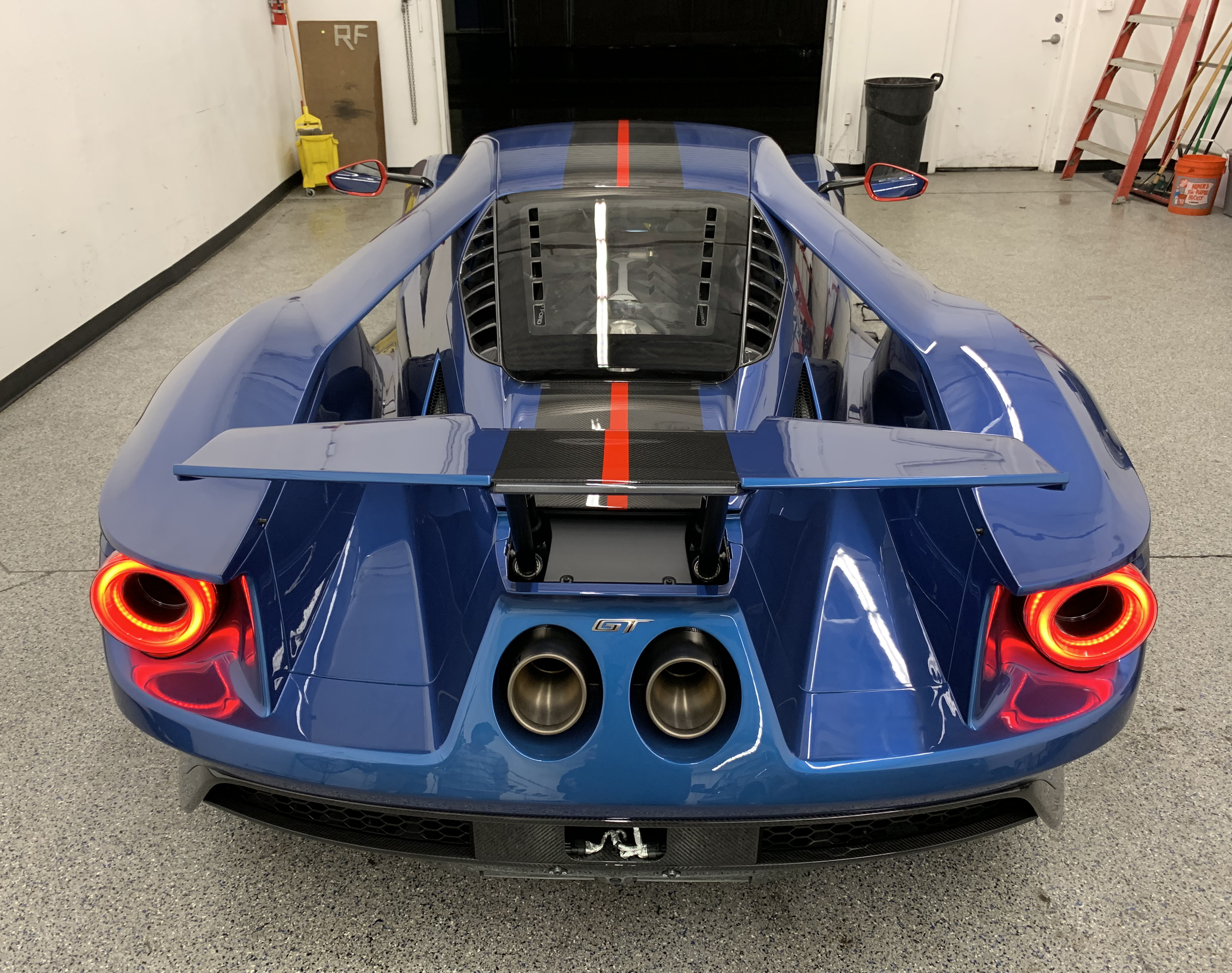 2019 Ford GT Carbon Series Rear Shop