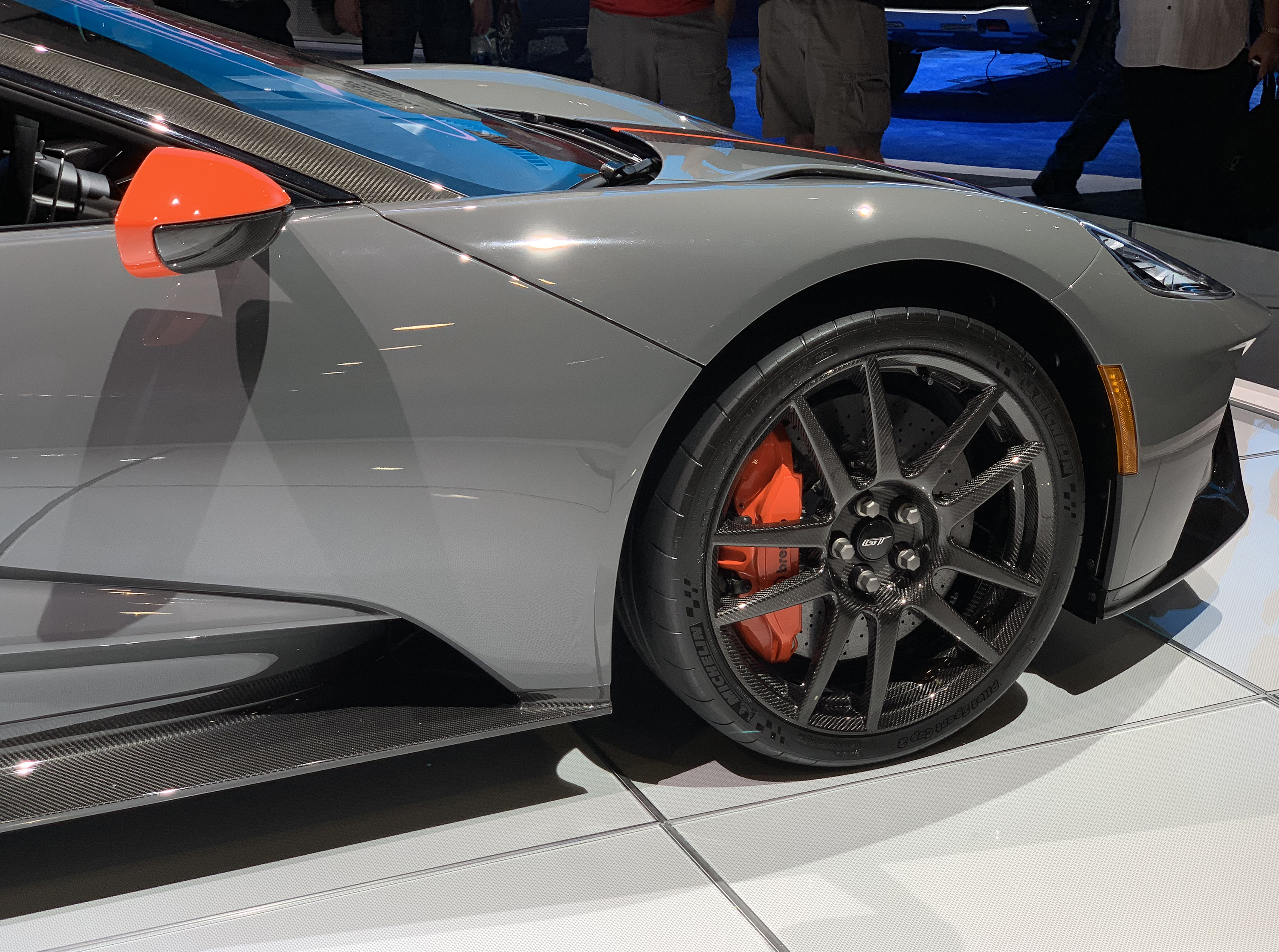 2019 Ford GT Carbon Series Orange Accents
