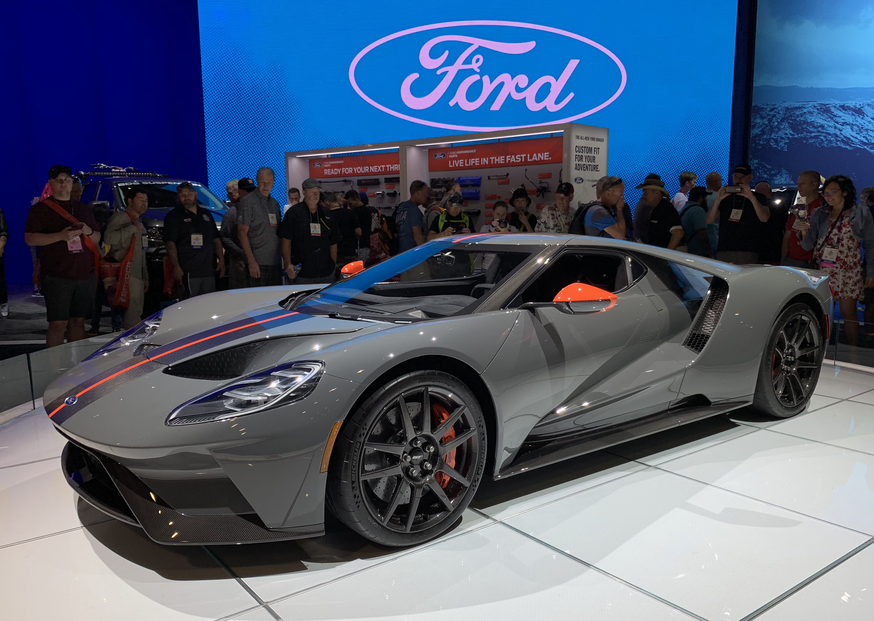 2019 Ford GT Carbon Series at SEMA