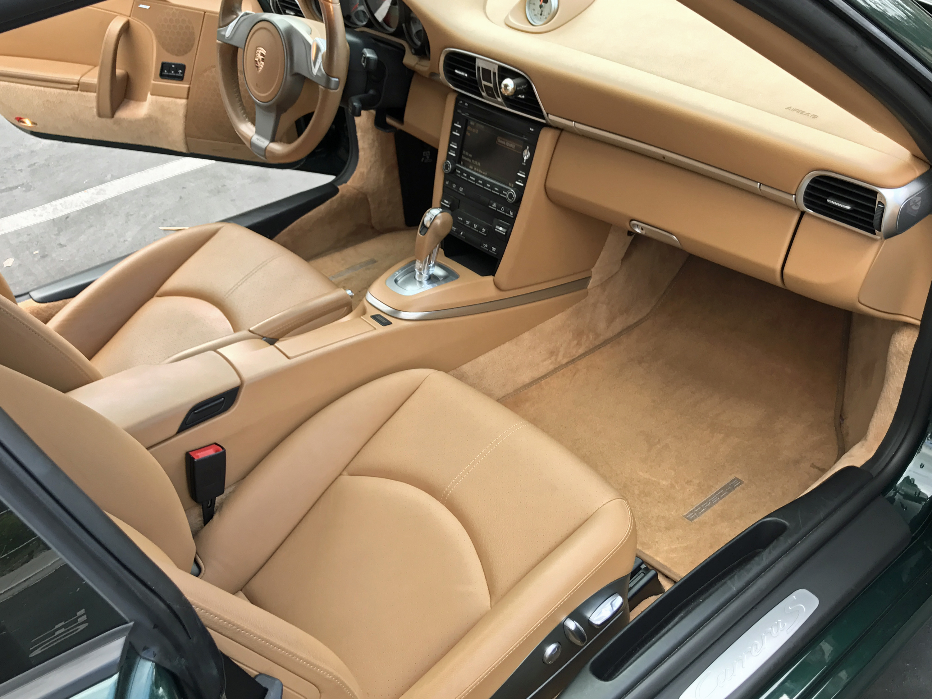 2009 Porsche 911 Carerra S Interior