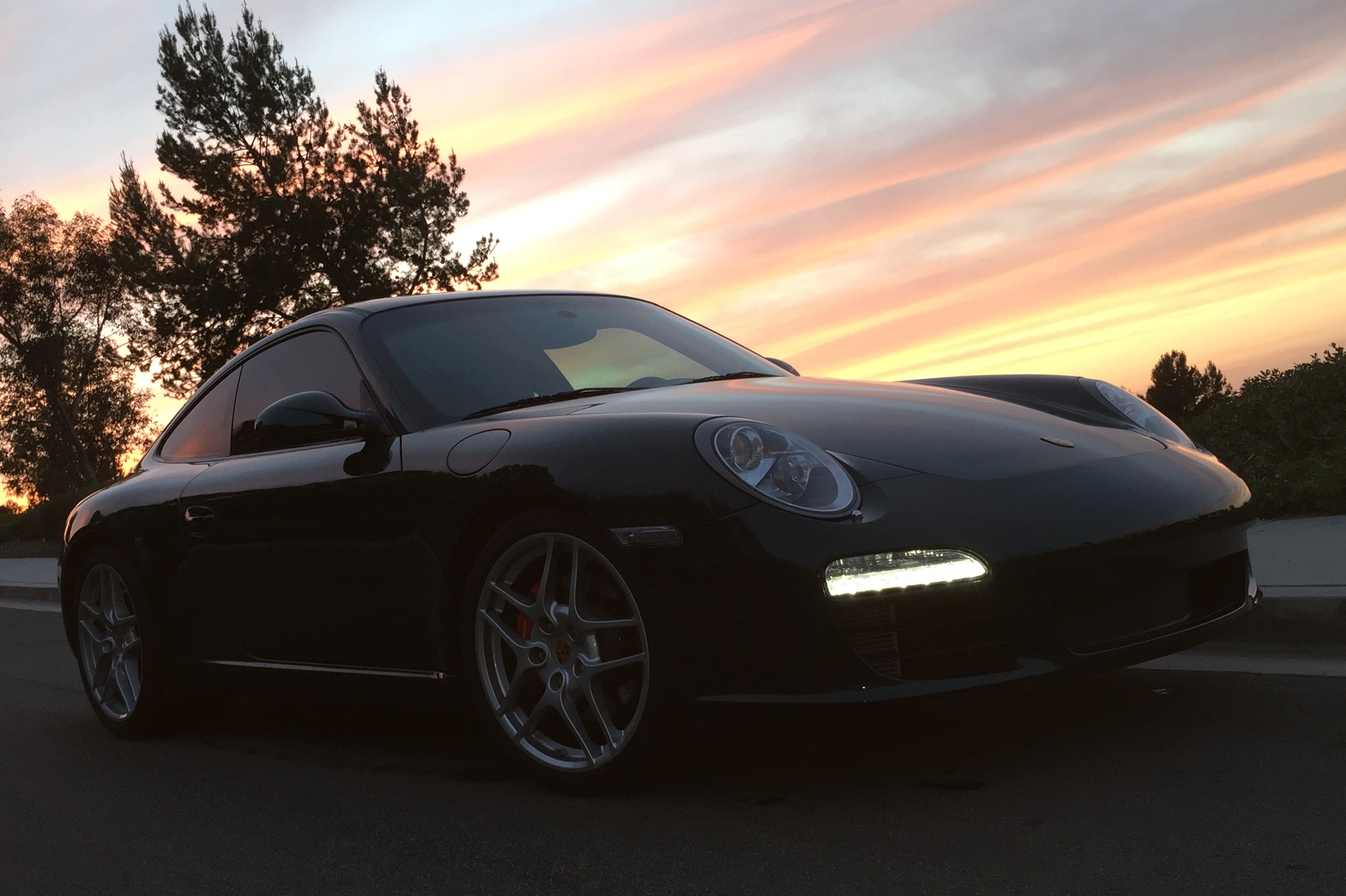 2009 Porsche 911 Carerra S Sunset