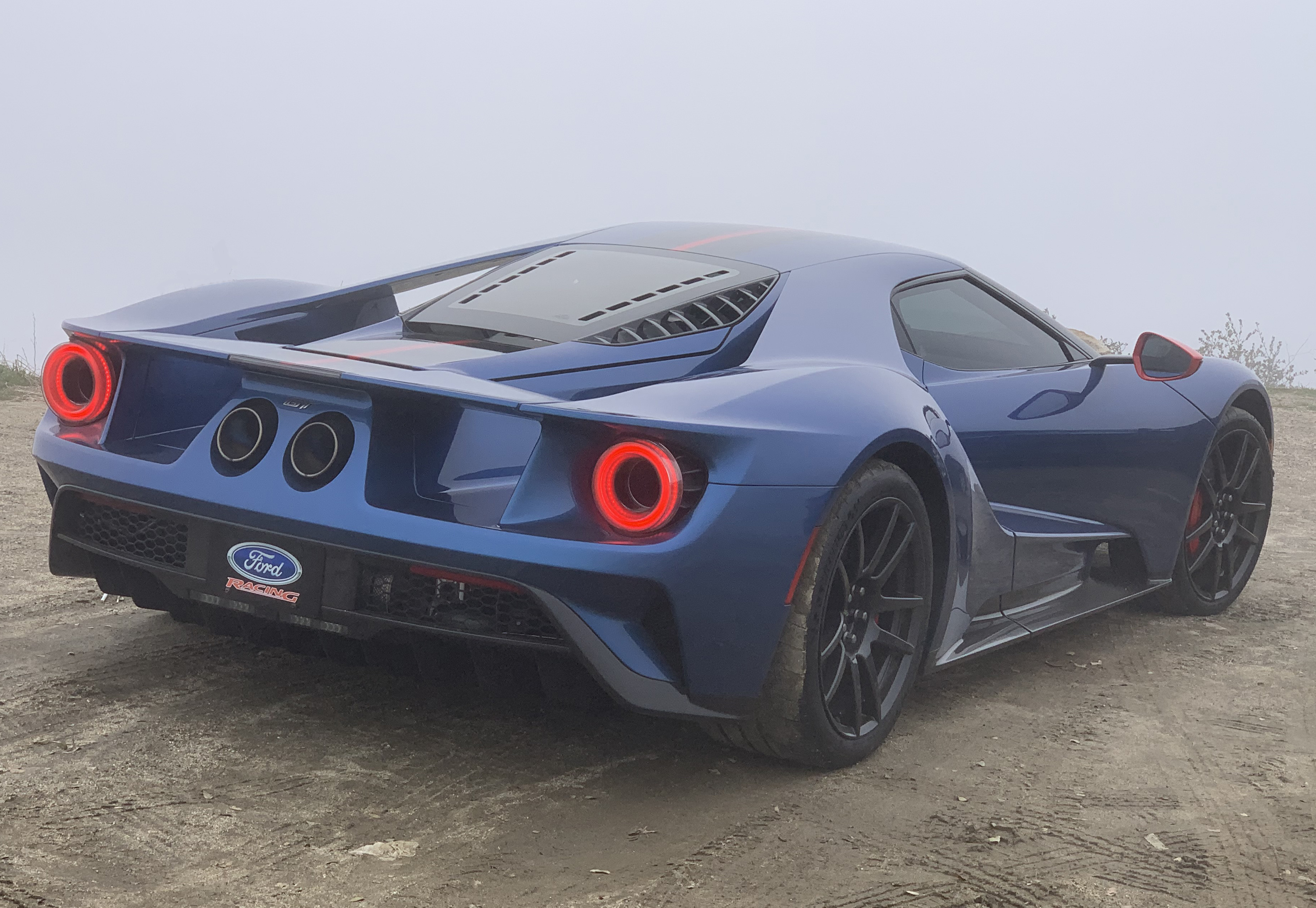 2019 Ford GT Carbon Series Palomar Rear Fog