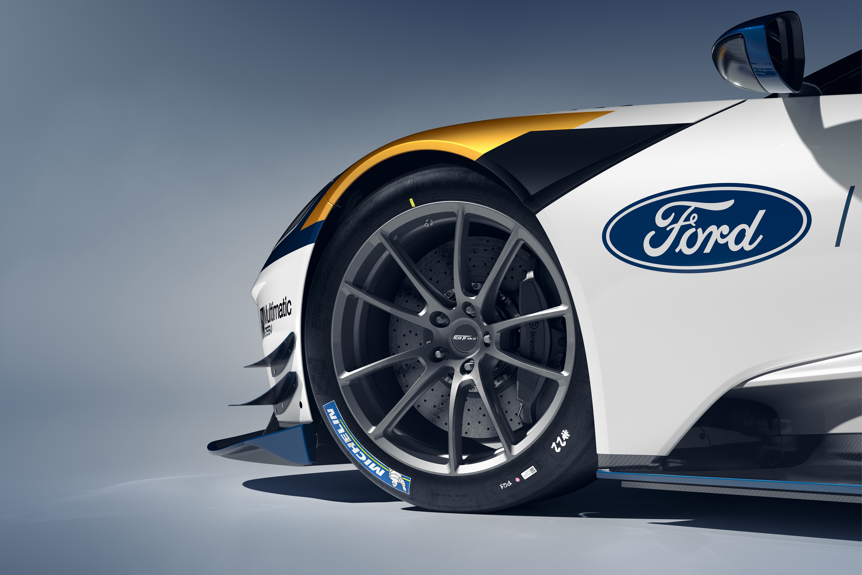Ford GT Mark II Wheel