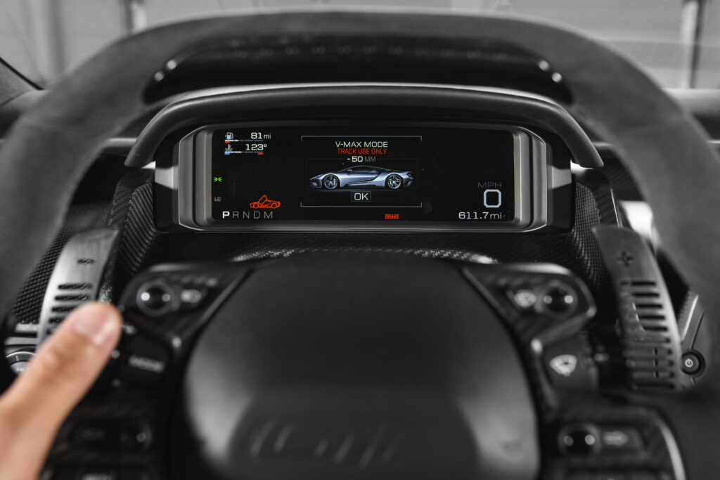 Ford GT Gauge Cluster VMAX Mode