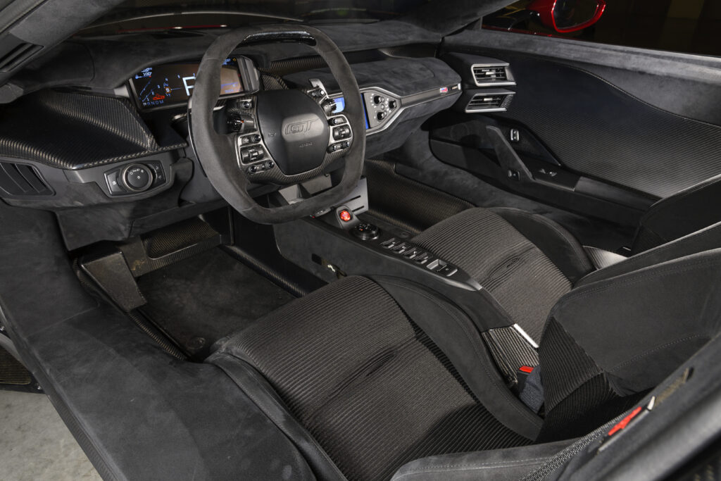 New Ford GT Interior Black