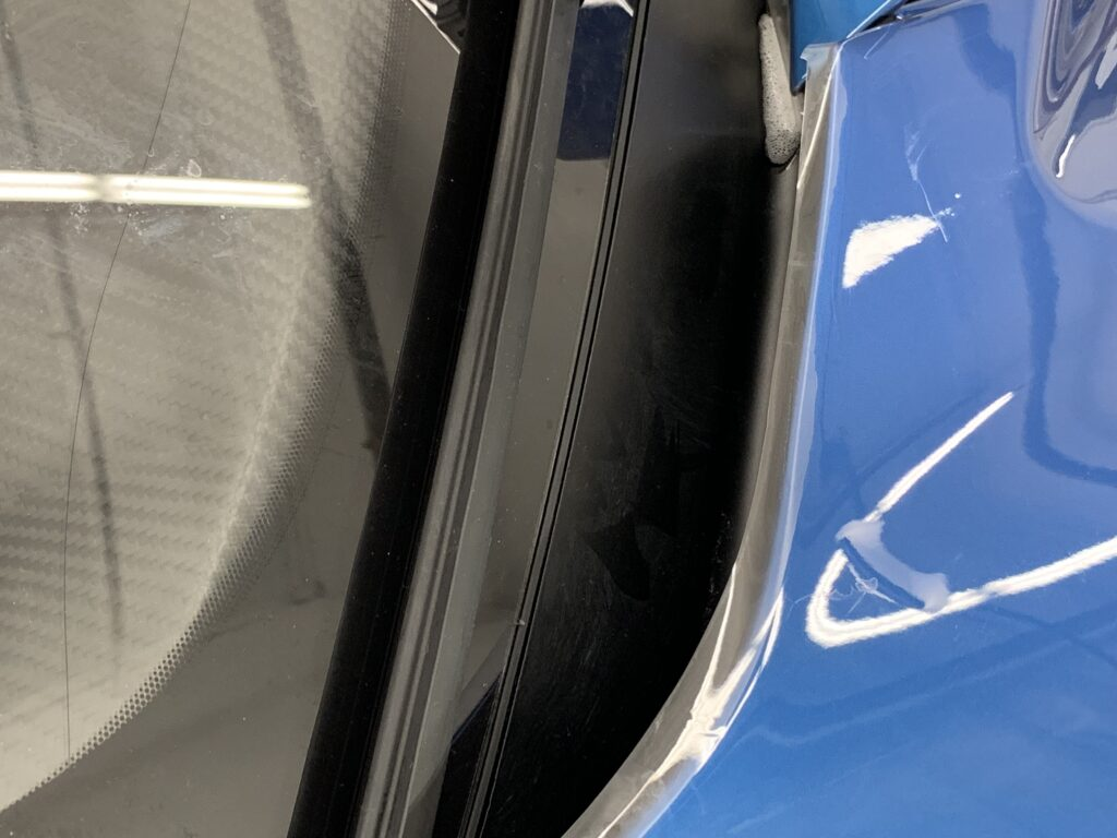 2019 Ford GT Carbon Series Paint Protection Film Door
