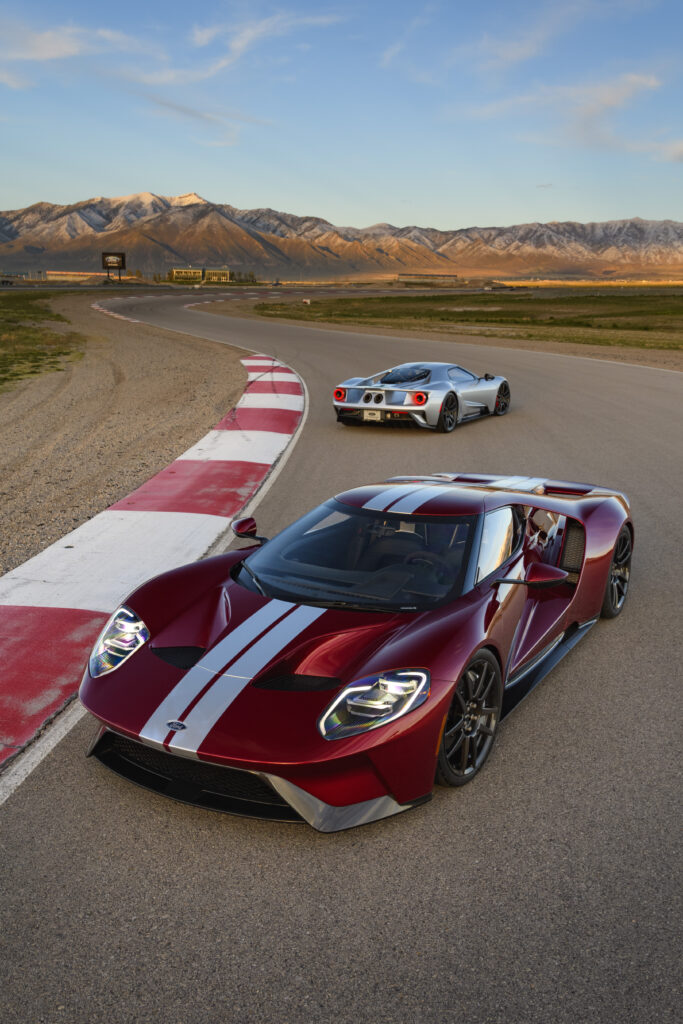 Liquid Rad and Silver New Ford GT